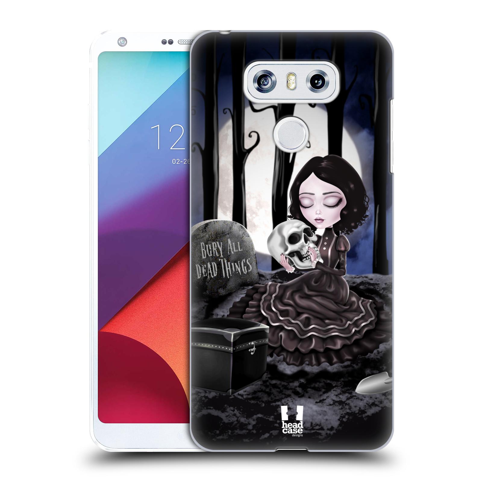 Plastové pouzdro na mobil LG G6 - Head Case MACABRE HŘBITOV