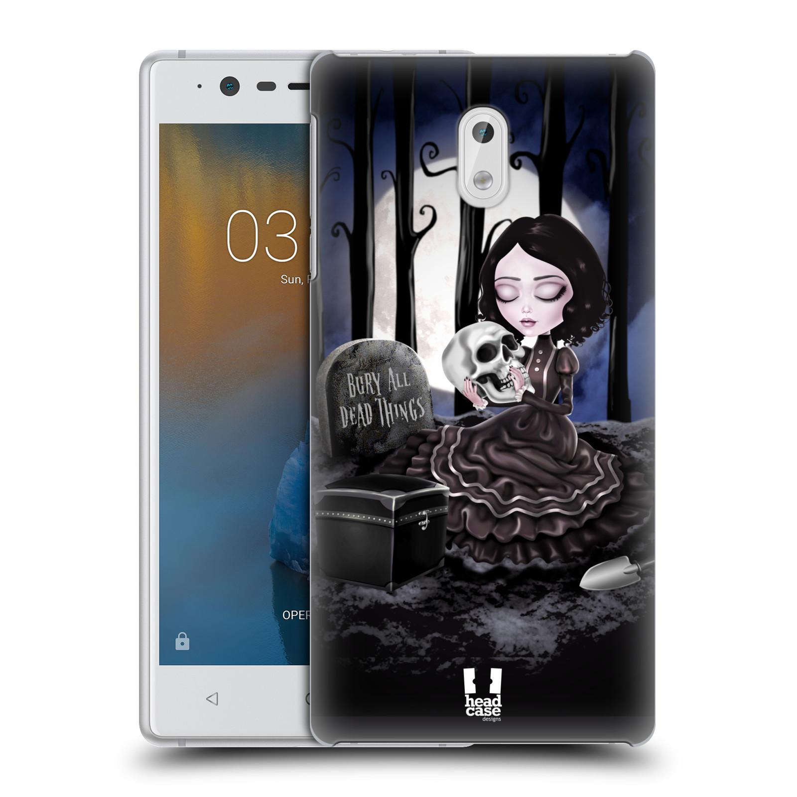 Plastové pouzdro na mobil Nokia 3 Head Case - MACABRE HŘBITOV