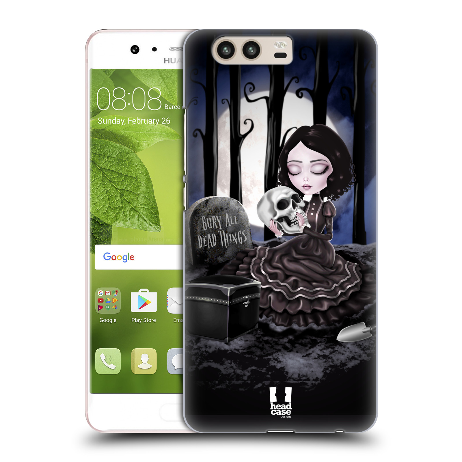 Plastové pouzdro na mobil Huawei P10 - Head Case MACABRE HŘBITOV