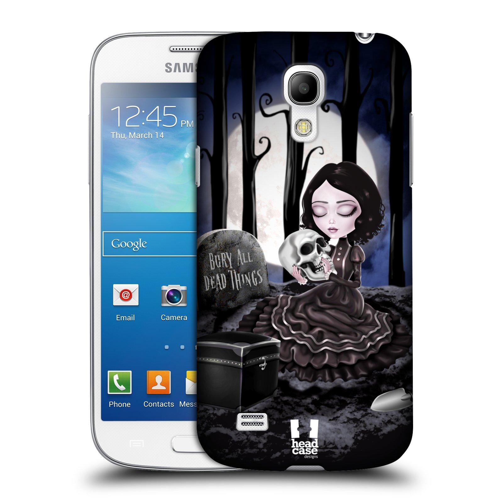 Plastové pouzdro na mobil Samsung Galaxy S4 Mini VE HEAD CASE MACABRE HŘBITOV