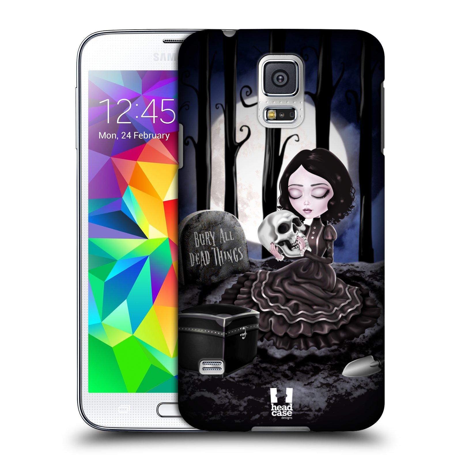 Plastové pouzdro na mobil Samsung Galaxy S5 HEAD CASE MACABRE HŘBITOV