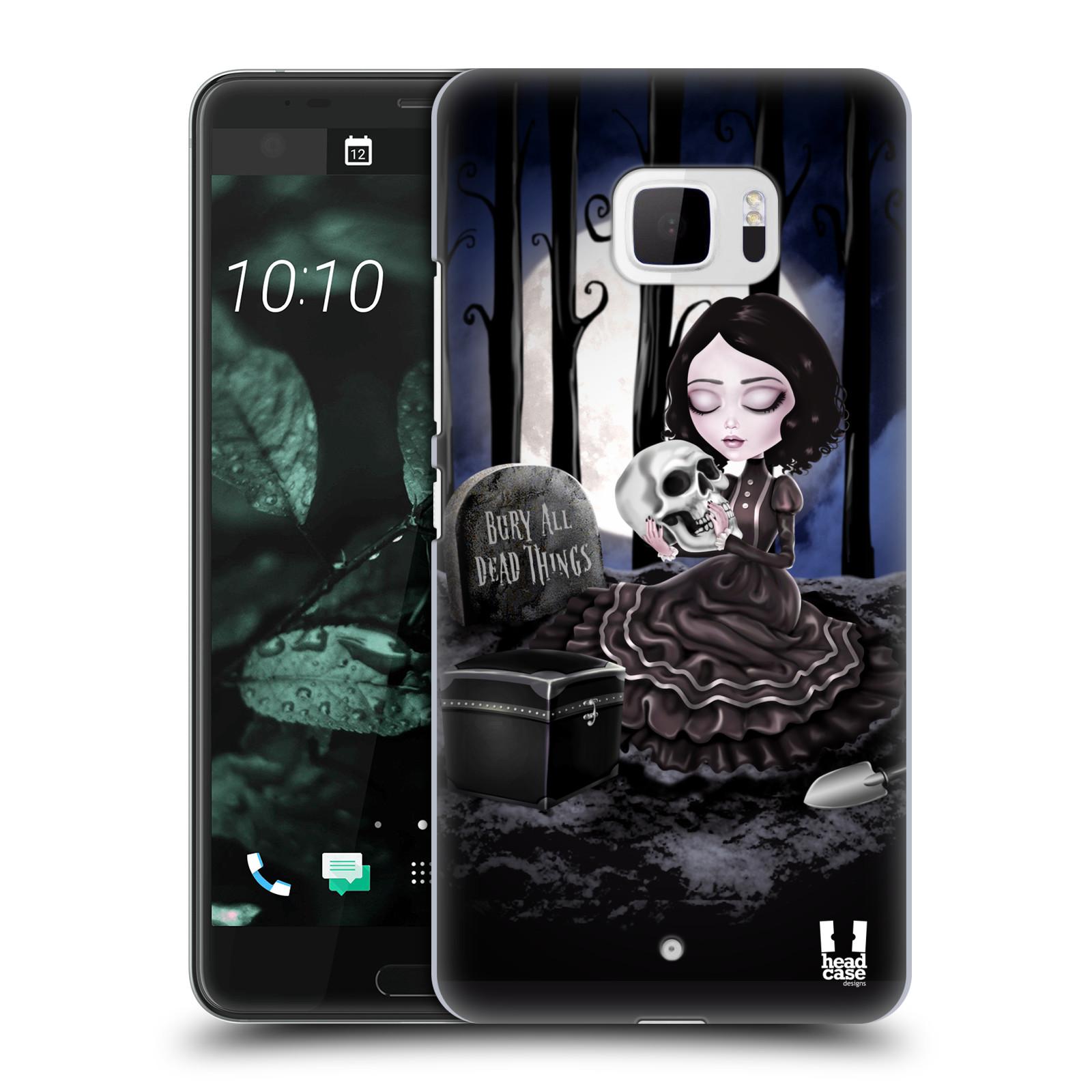 Plastové pouzdro na mobil HTC U Ultra Head Case - MACABRE HŘBITOV (Plastový kryt či obal na mobilní telefon HTC U Ultra (99HALT015-00))