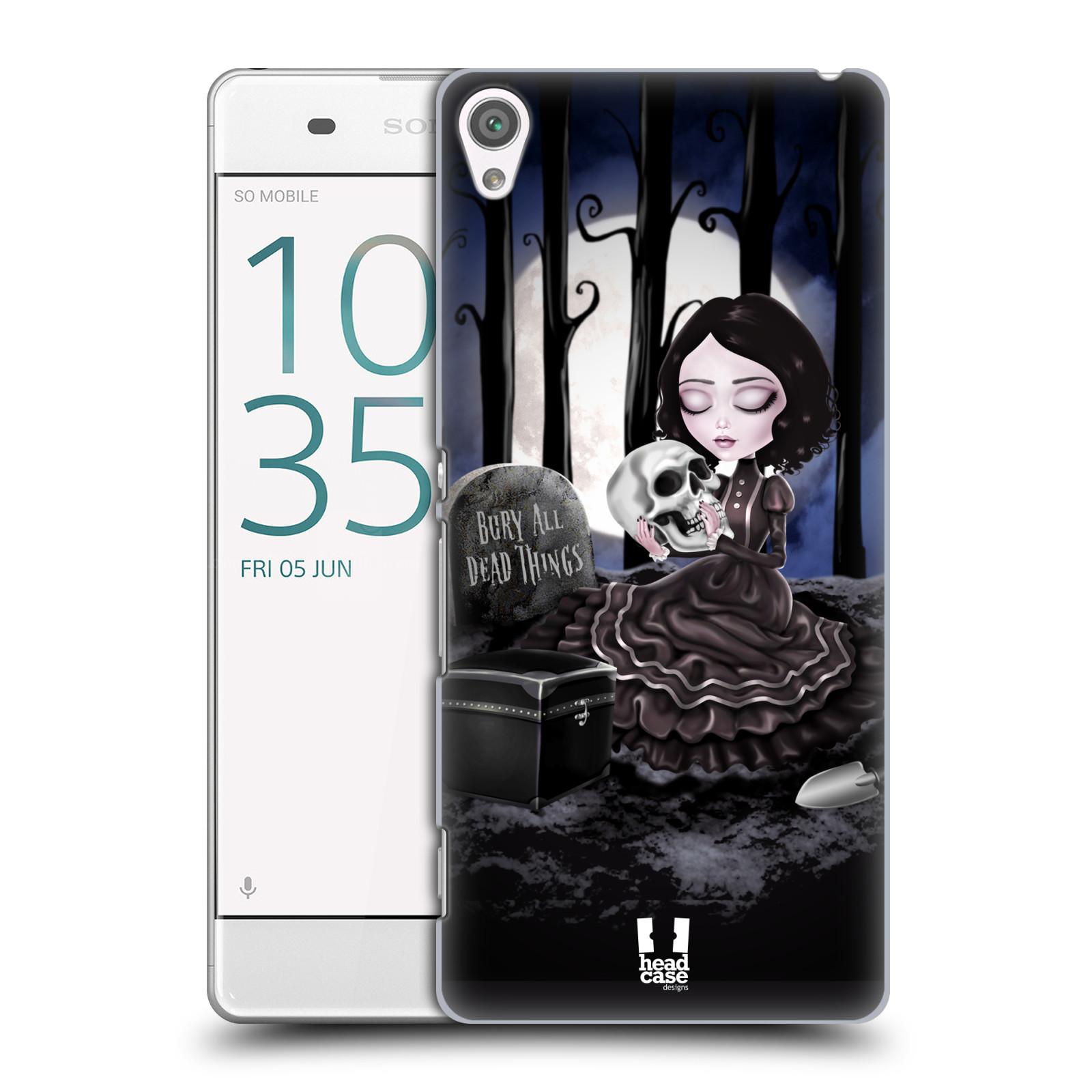 Plastové pouzdro na mobil Sony Xperia XA HEAD CASE MACABRE HŘBITOV