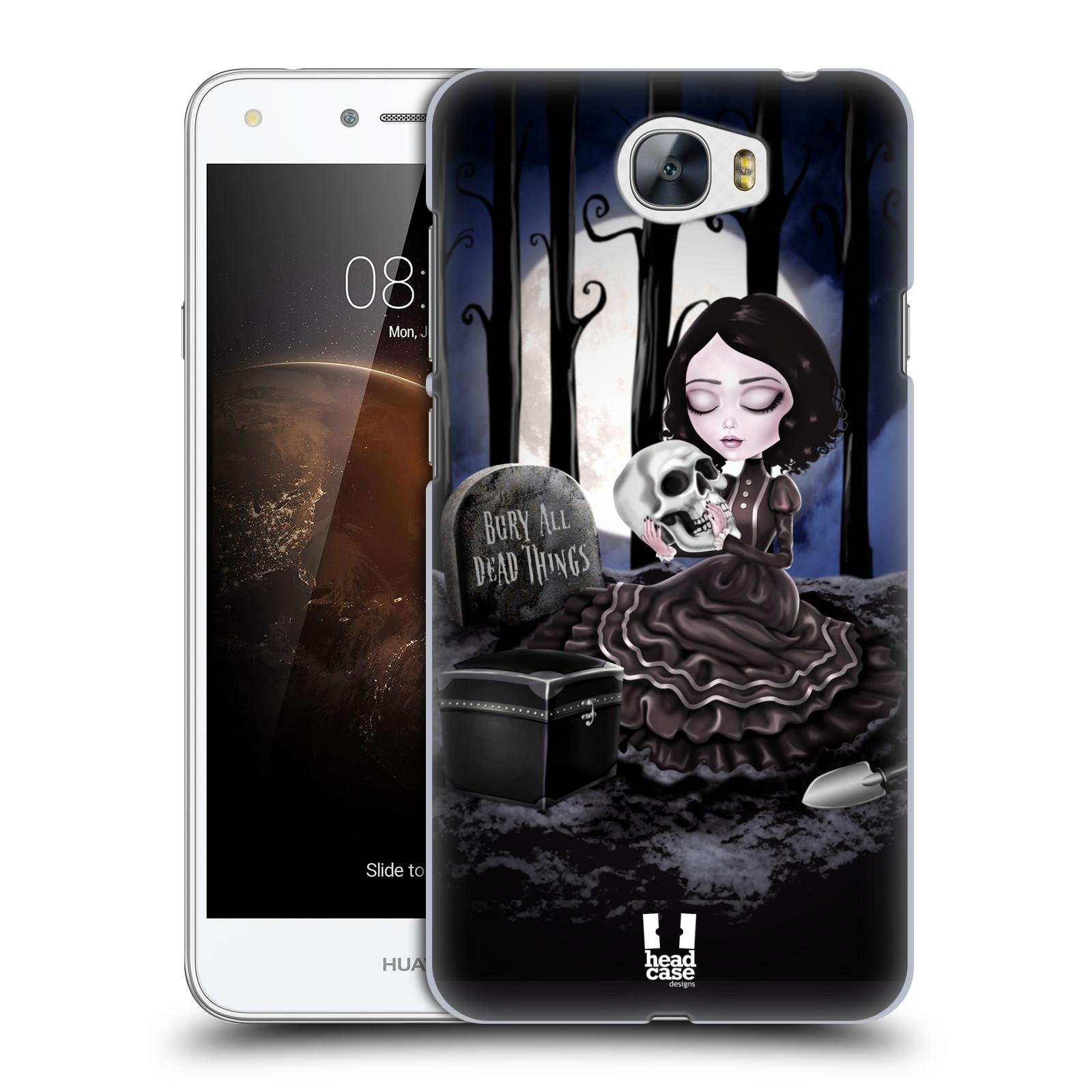 Plastové pouzdro na mobil Huawei Y5 II HEAD CASE MACABRE HŘBITOV