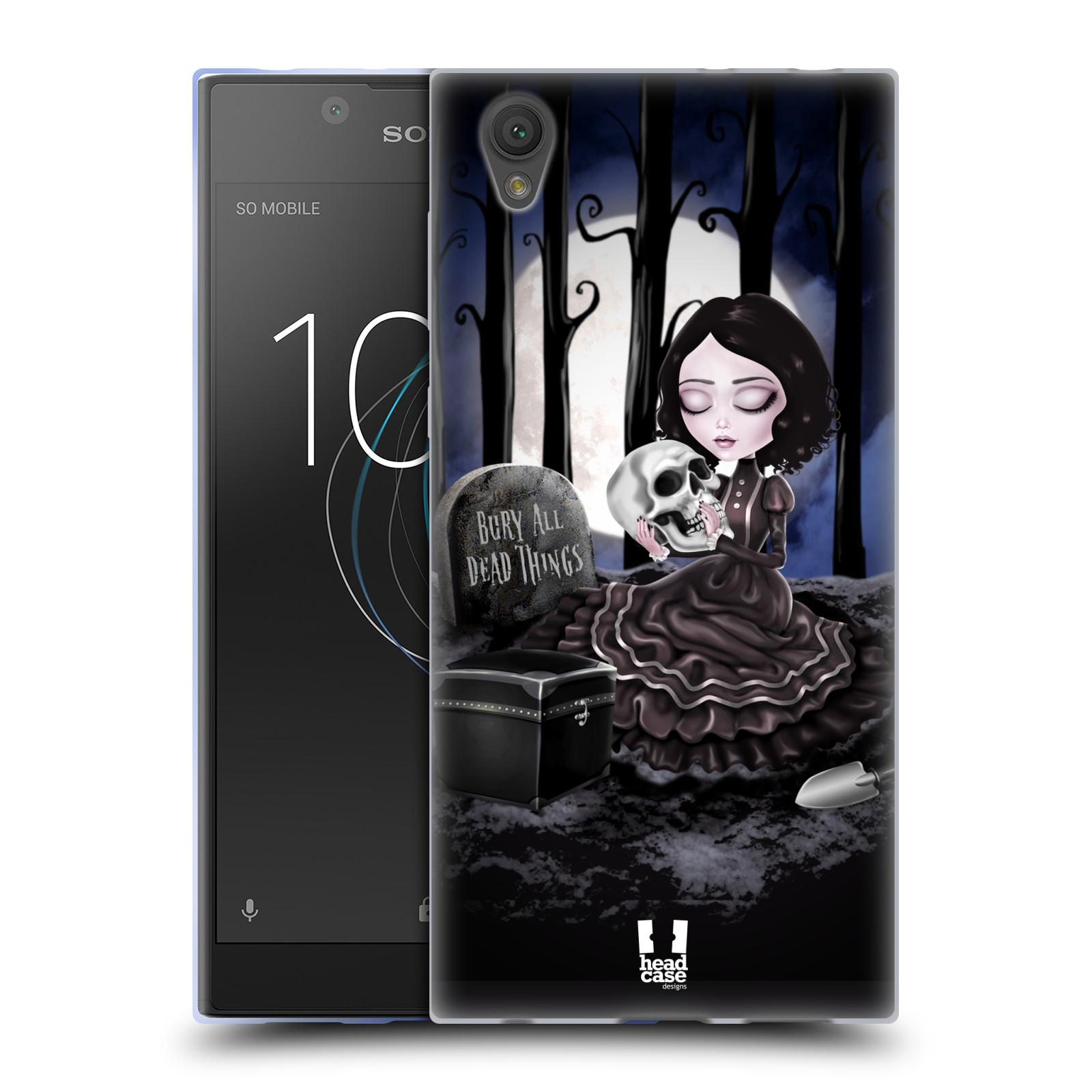 Silikonové pouzdro na mobil Sony Xperia L1 - Head Case - MACABRE HŘBITOV