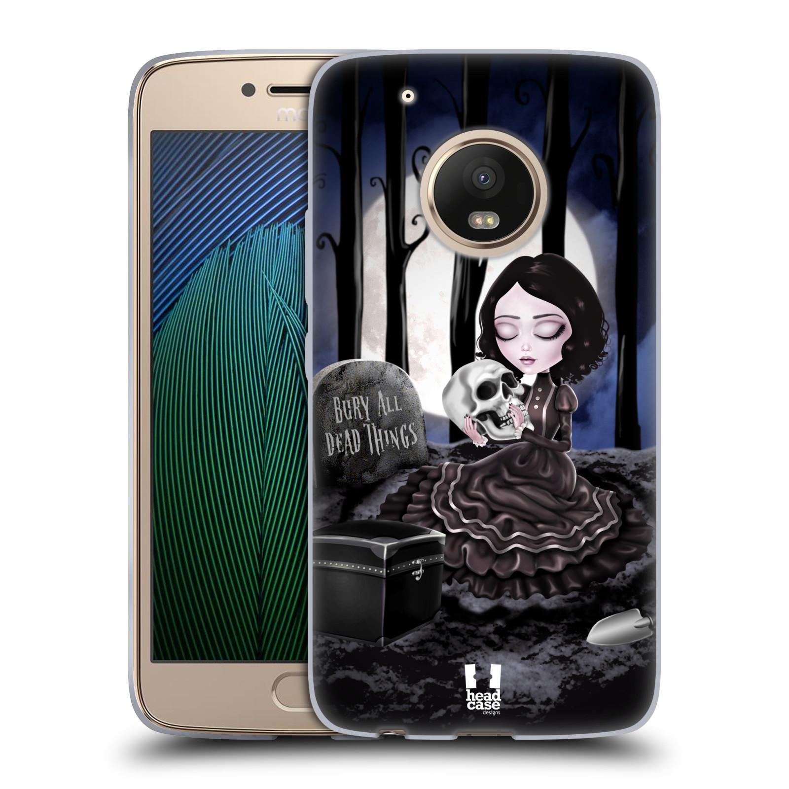 Silikonové pouzdro na mobil Lenovo Moto G5 Plus - Head Case MACABRE HŘBITOV