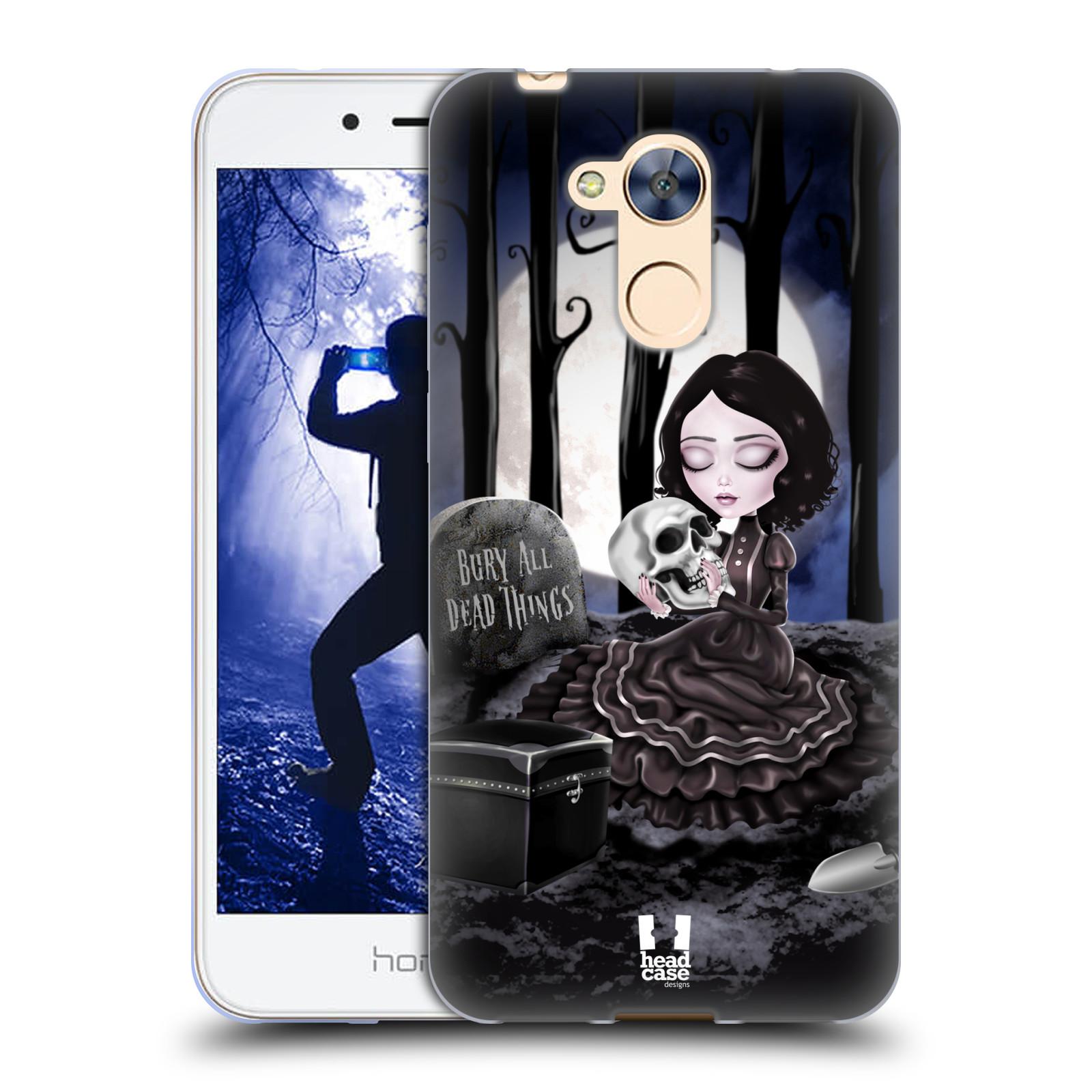 Silikonové pouzdro na mobil Honor 6A - Head Case - MACABRE HŘBITOV