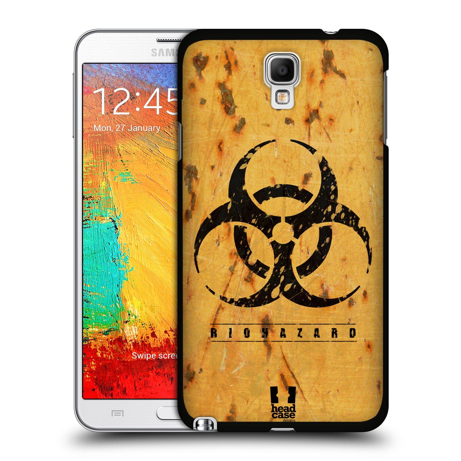 Plastové pouzdro na mobil Samsung Galaxy Note 3 Neo HEAD CASE BIOHAZARD REZ (Kryt či obal na mobilní telefon Samsung Galaxy Note 3 Neo SM-N7505)