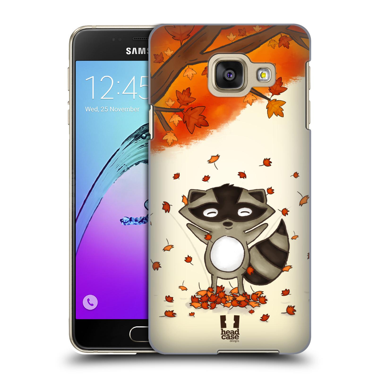 Plastové pouzdro na mobil Samsung Galaxy A3 (2016) HEAD CASE PODZIMNÍ MÝVAL