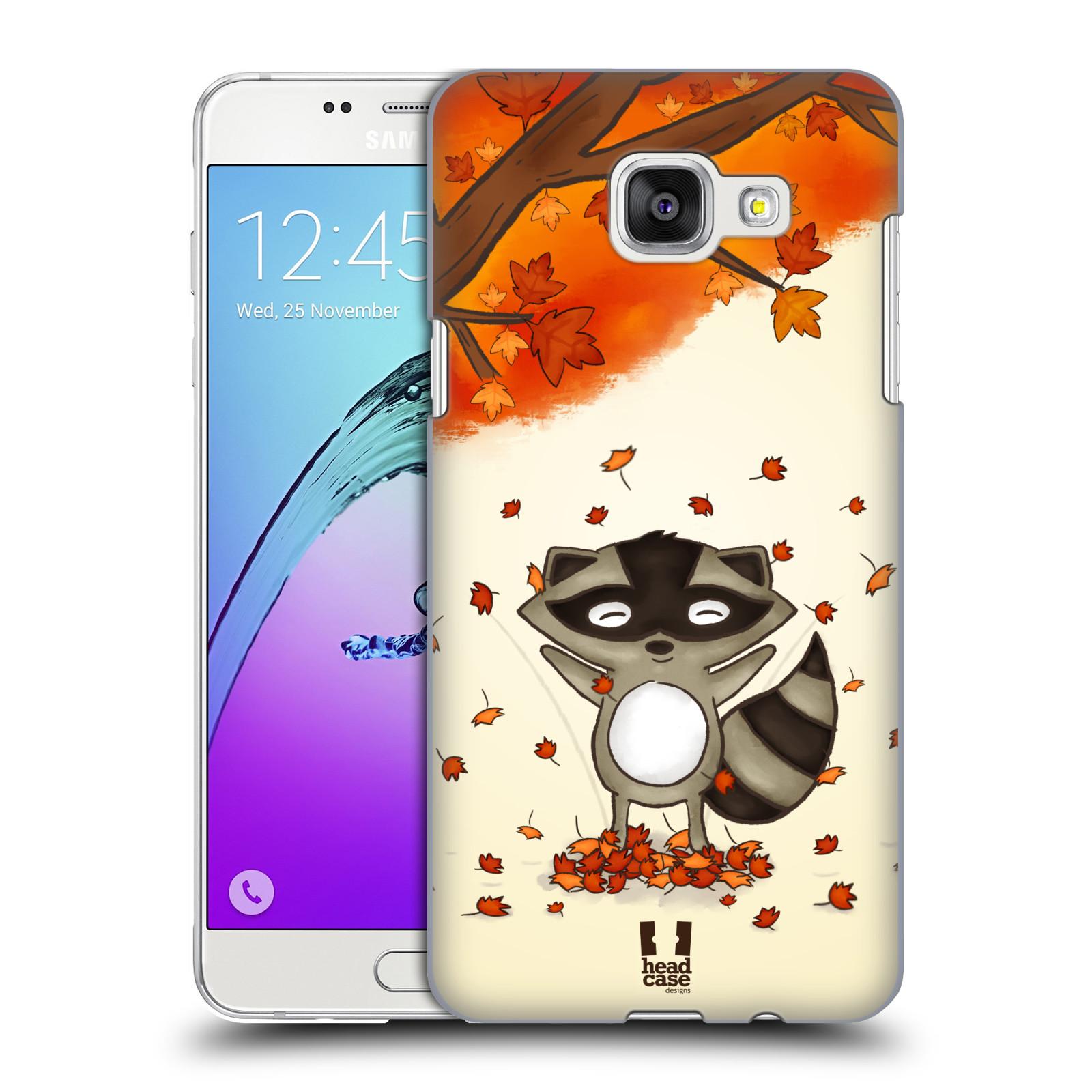 Plastové pouzdro na mobil Samsung Galaxy A5 (2016) HEAD CASE PODZIMNÍ MÝVAL