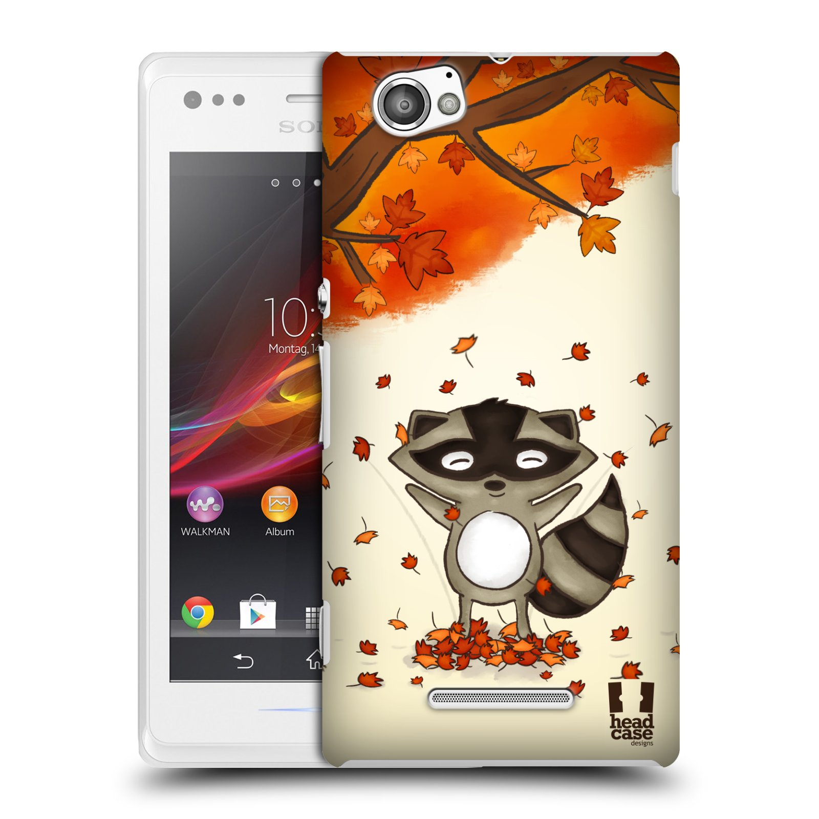 Plastové pouzdro na mobil Sony Xperia M C1905 HEAD CASE PODZIMNÍ MÝVAL