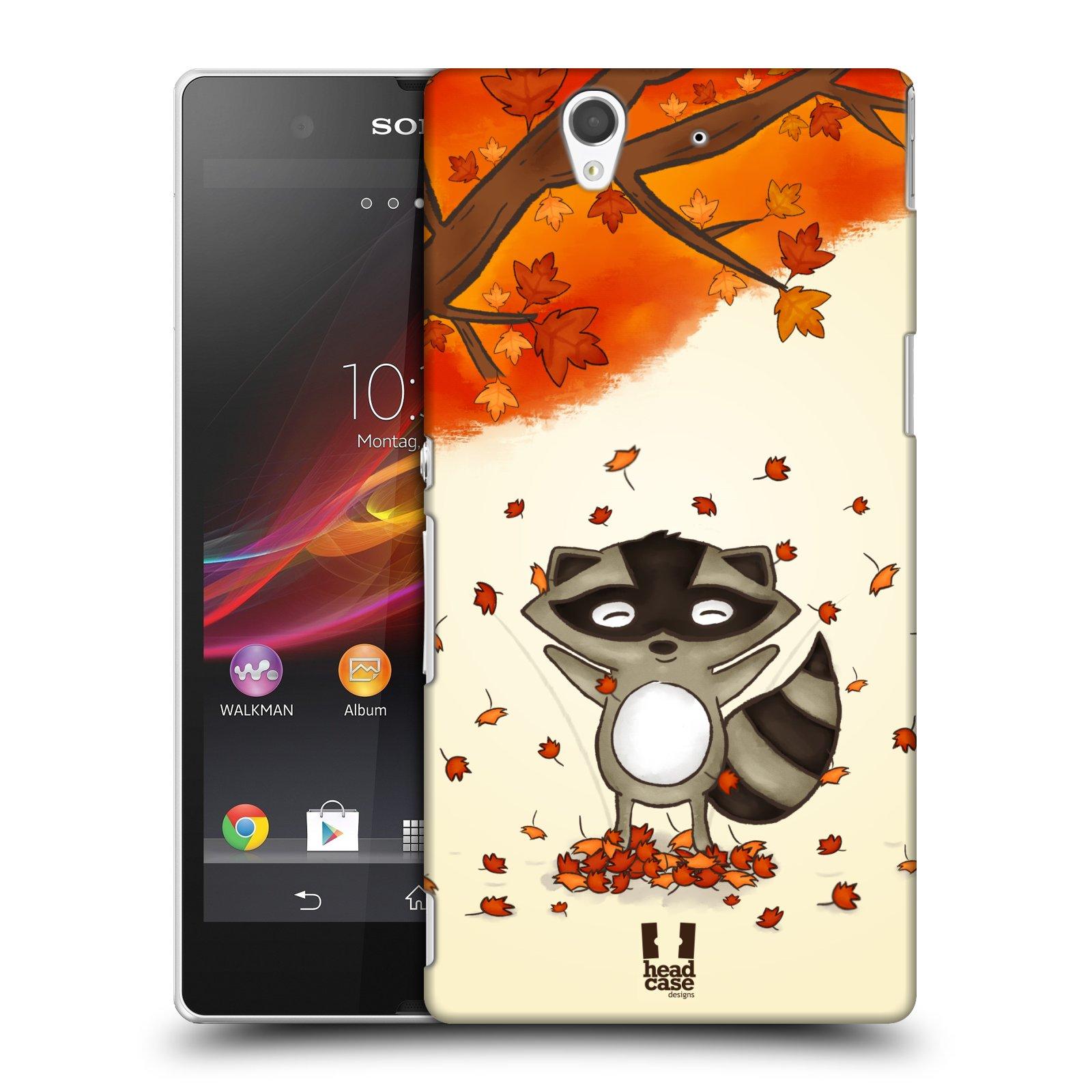 Plastové pouzdro na mobil Sony Xperia Z C6603 HEAD CASE PODZIMNÍ MÝVAL