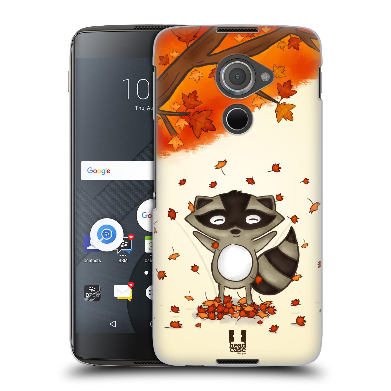 Plastové pouzdro na mobil Blackberry DTEK60 (Argon) - Head Case PODZIMNÍ MÝVAL
