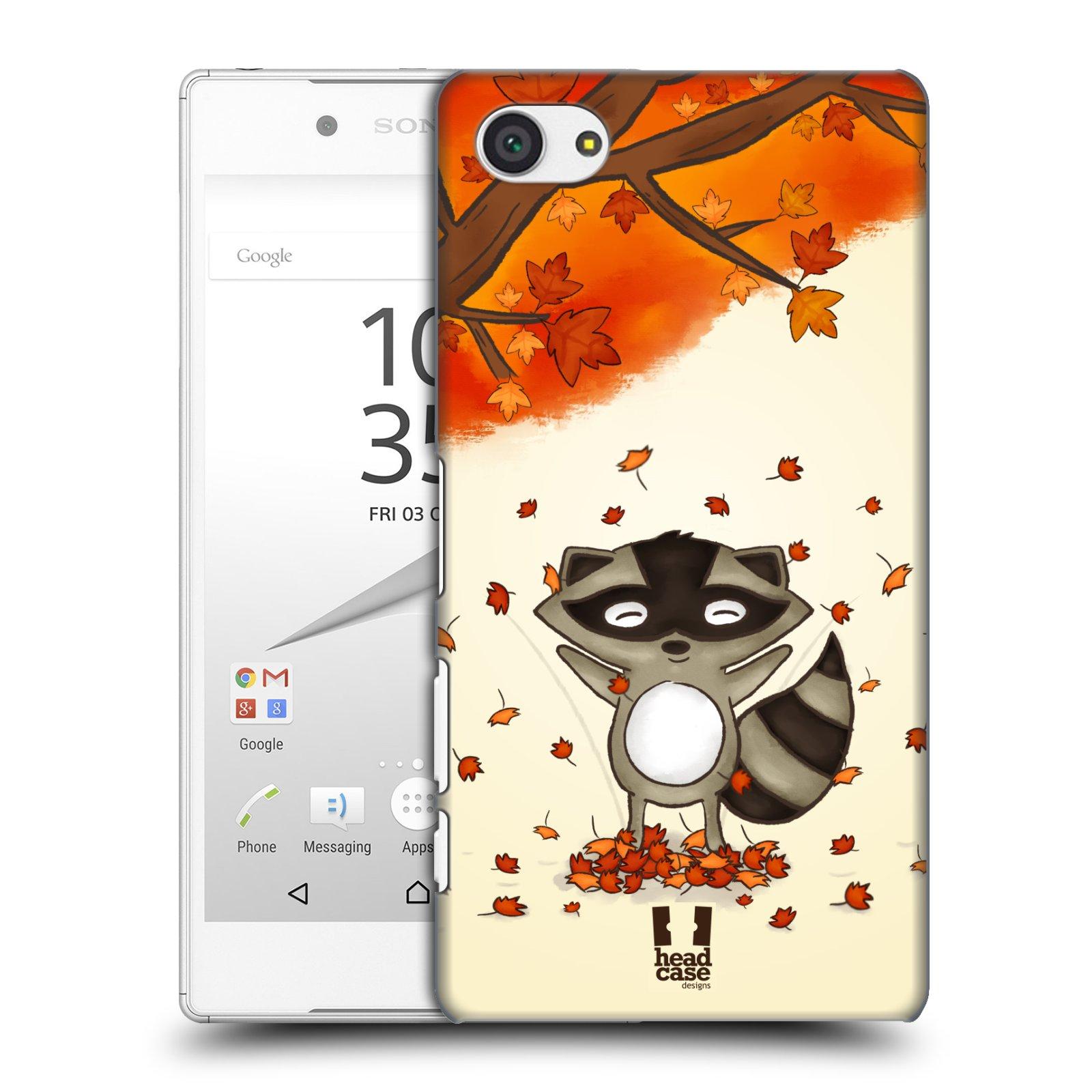 Plastové pouzdro na mobil Sony Xperia Z5 Compact HEAD CASE PODZIMNÍ MÝVAL