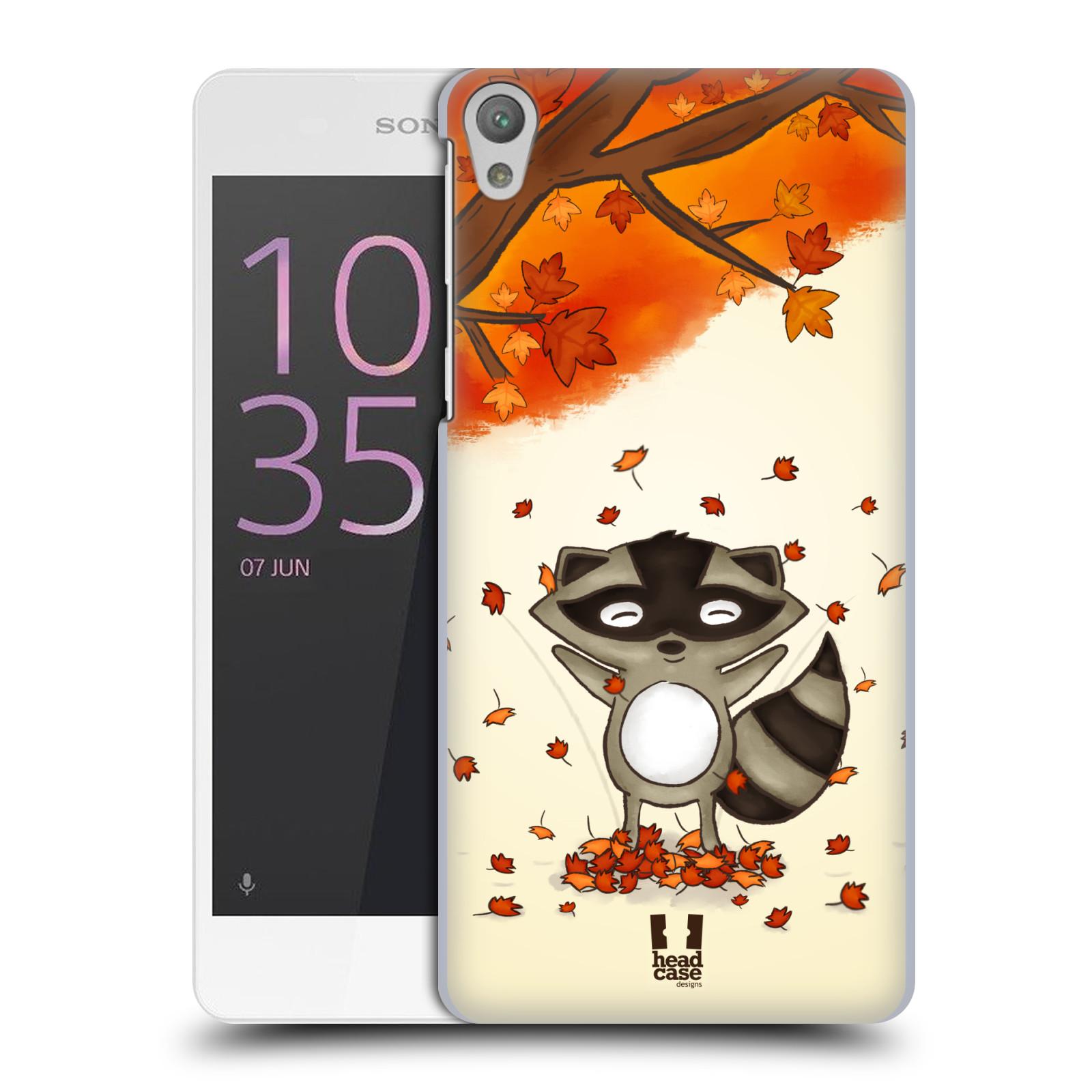 Plastové pouzdro na mobil Sony Xperia E5 HEAD CASE PODZIMNÍ MÝVAL