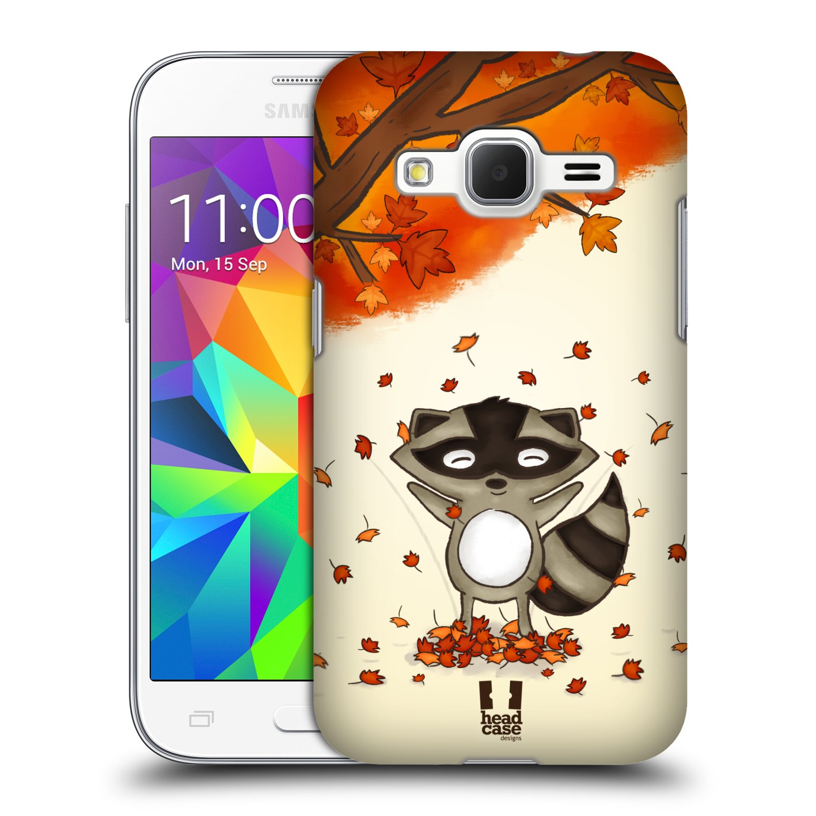 Plastové pouzdro na mobil Samsung Galaxy Core Prime LTE HEAD CASE PODZIMNÍ MÝVAL