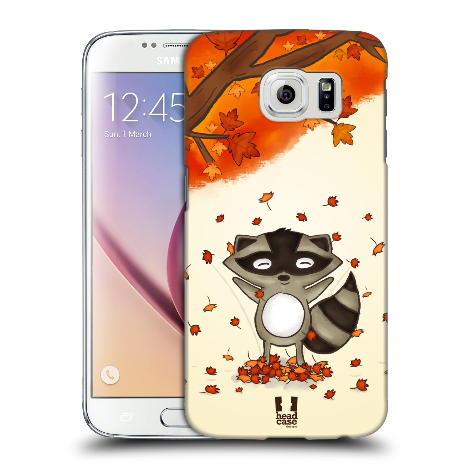 Plastové pouzdro na mobil Samsung Galaxy S6 HEAD CASE PODZIMNÍ MÝVAL