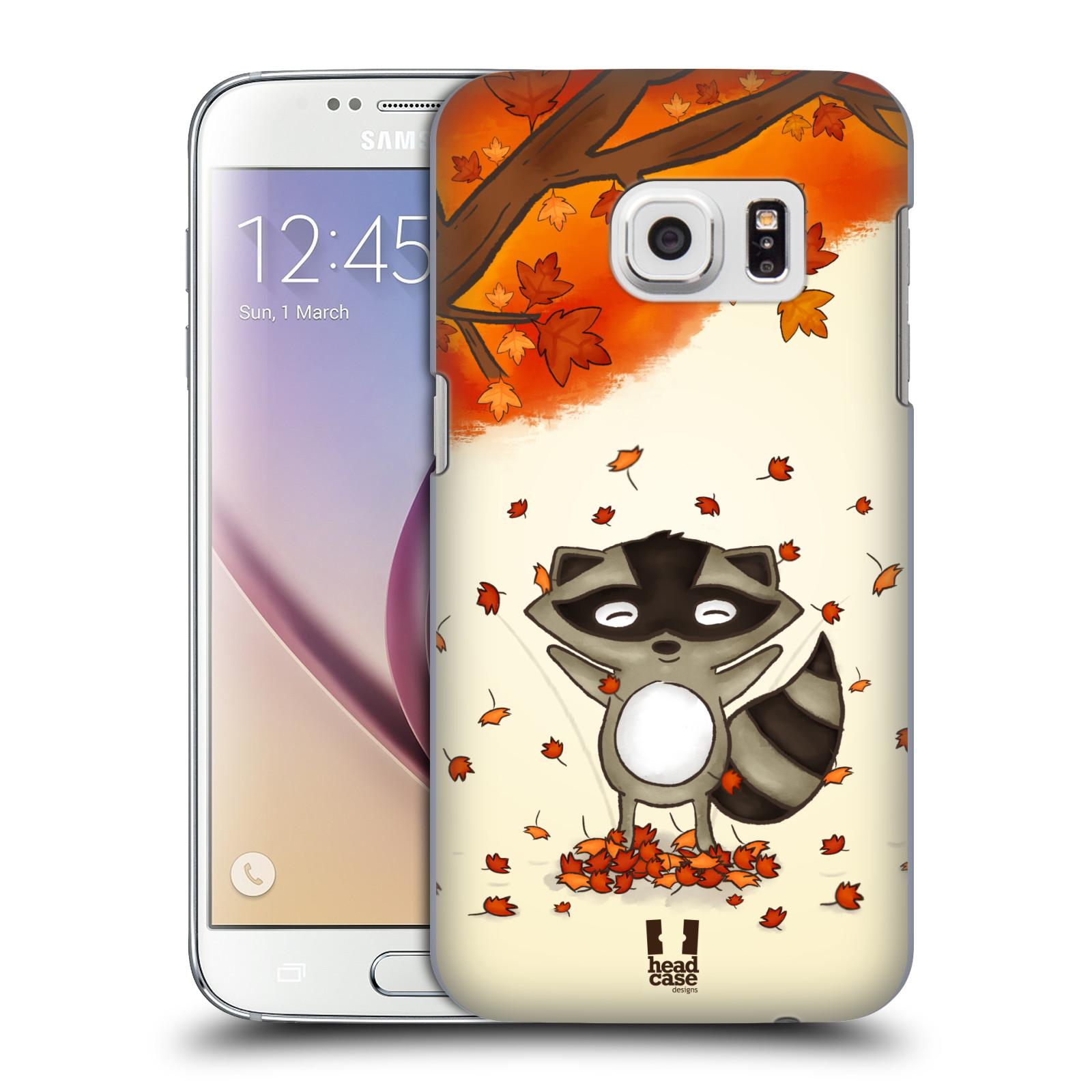 Plastové pouzdro na mobil Samsung Galaxy S7 HEAD CASE PODZIMNÍ MÝVAL (Kryt či obal na mobilní telefon Samsung Galaxy S7 SM-G930F)
