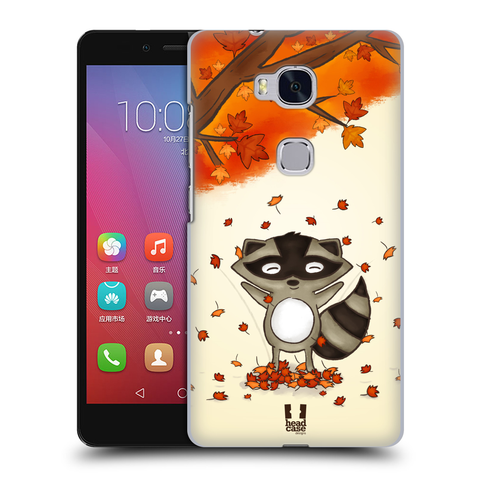 Plastové pouzdro na mobil Honor 5X HEAD CASE PODZIMNÍ MÝVAL