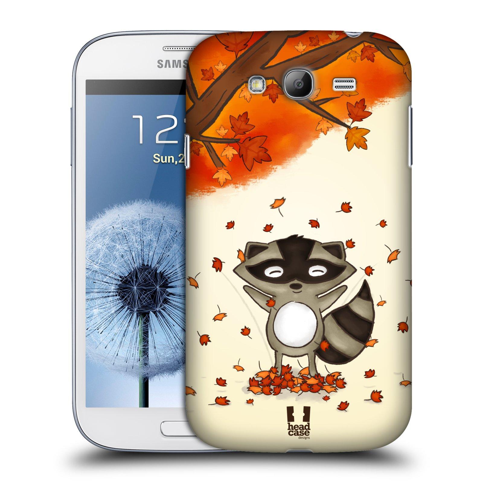 Plastové pouzdro na mobil Samsung Galaxy Grand Neo Plus HEAD CASE PODZIMNÍ MÝVAL