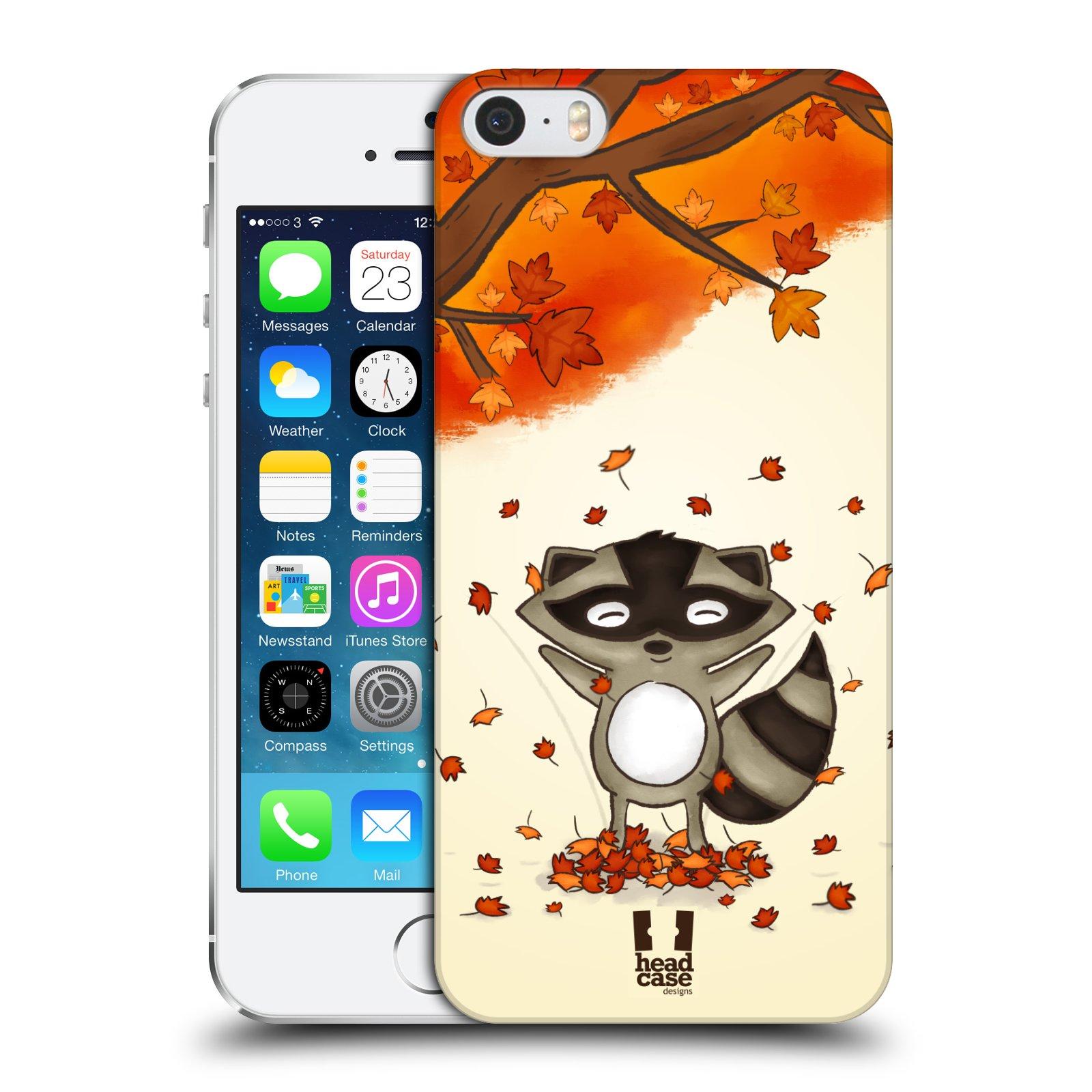 Plastové pouzdro na mobil Apple iPhone SE, 5 a 5S HEAD CASE PODZIMNÍ MÝVAL