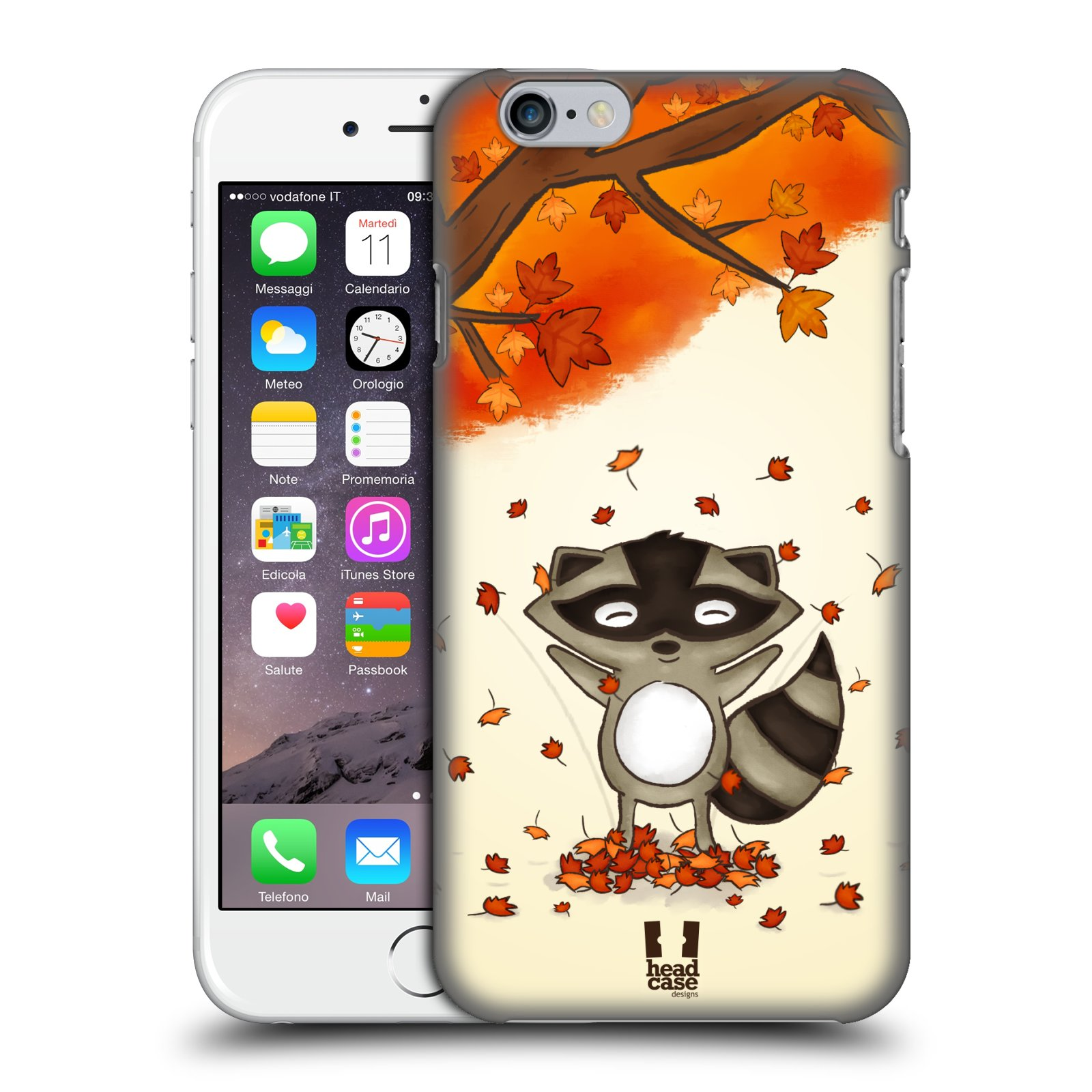 Plastové pouzdro na mobil Apple iPhone 6 a 6S HEAD CASE PODZIMNÍ MÝVAL