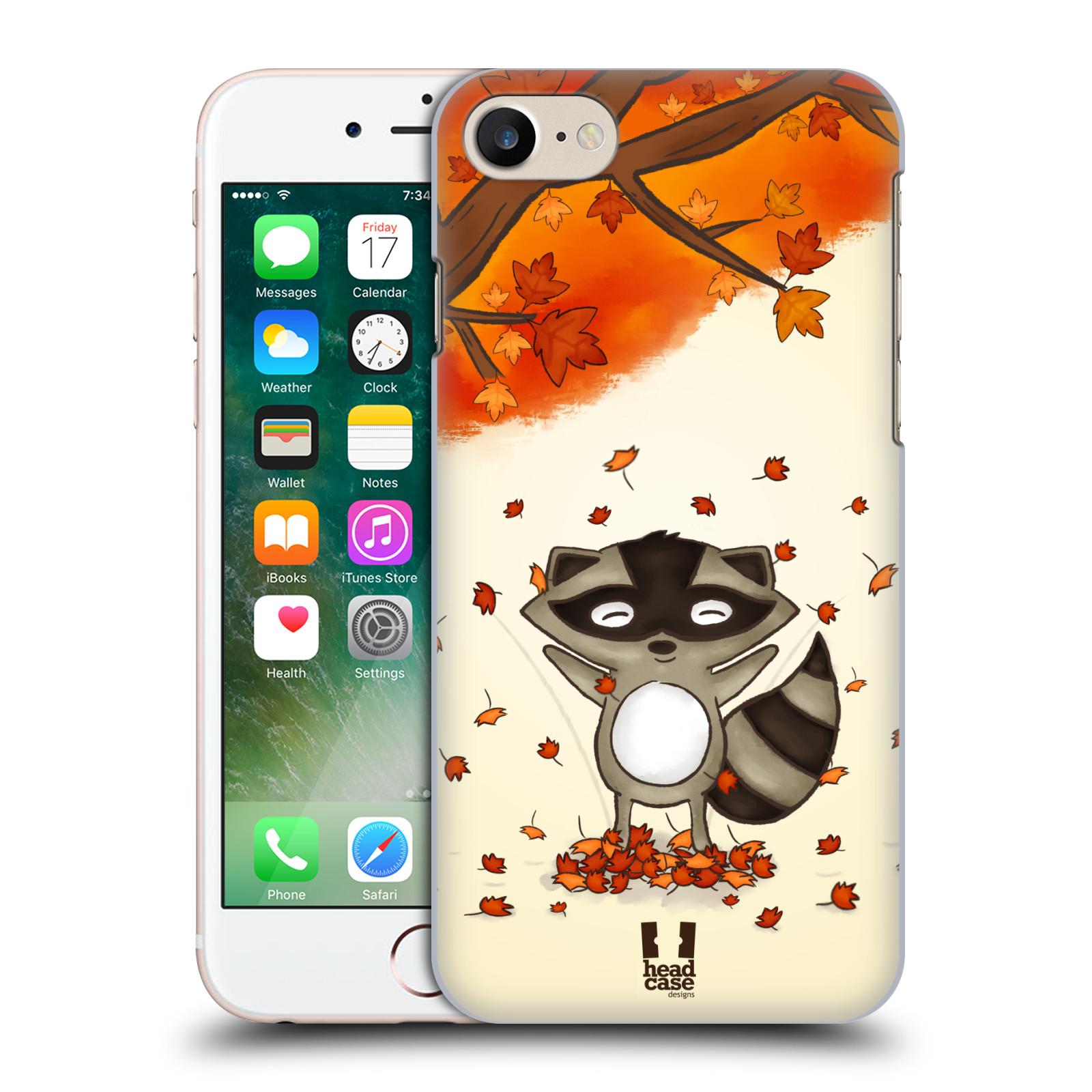 Plastové pouzdro na mobil Apple iPhone 7 HEAD CASE PODZIMNÍ MÝVAL