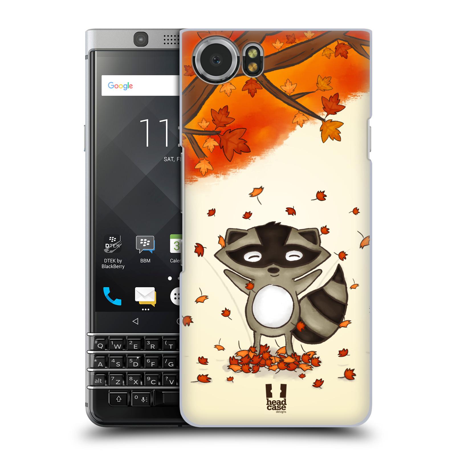 Plastové pouzdro na mobil BlackBerry KEYone - Head Case - PODZIMNÍ MÝVAL