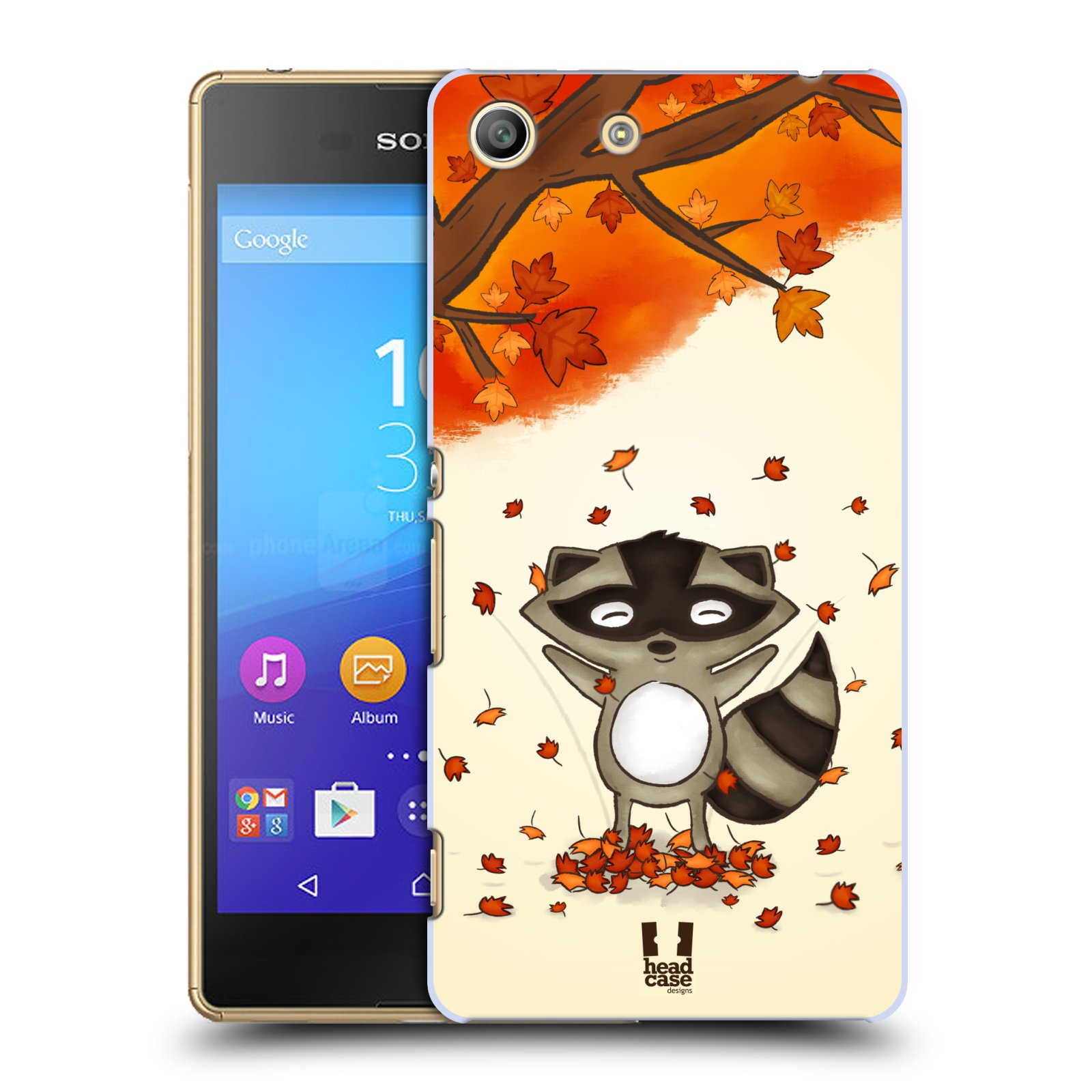 Plastové pouzdro na mobil Sony Xperia M5 HEAD CASE PODZIMNÍ MÝVAL