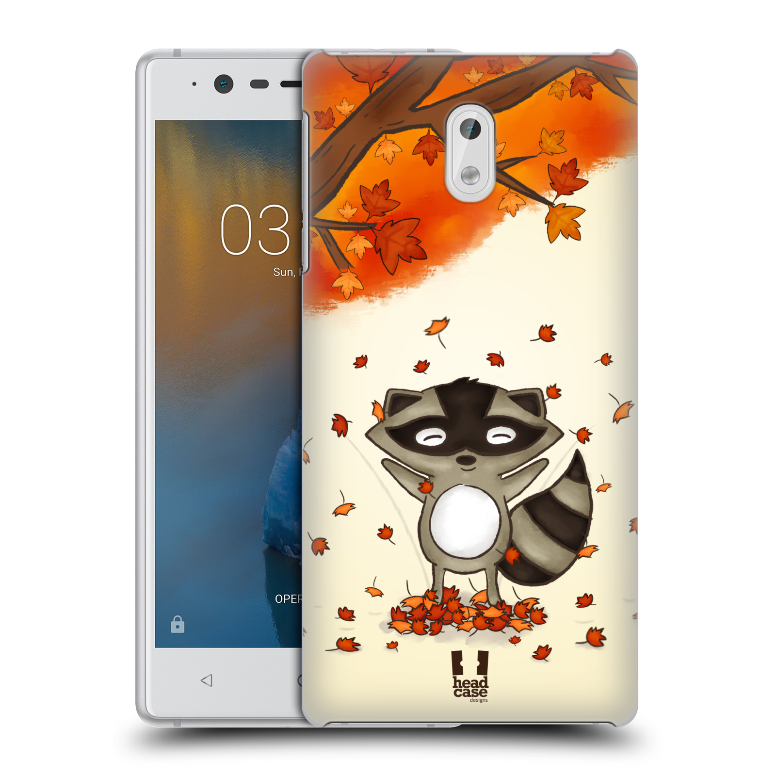 Plastové pouzdro na mobil Nokia 3 Head Case - PODZIMNÍ MÝVAL
