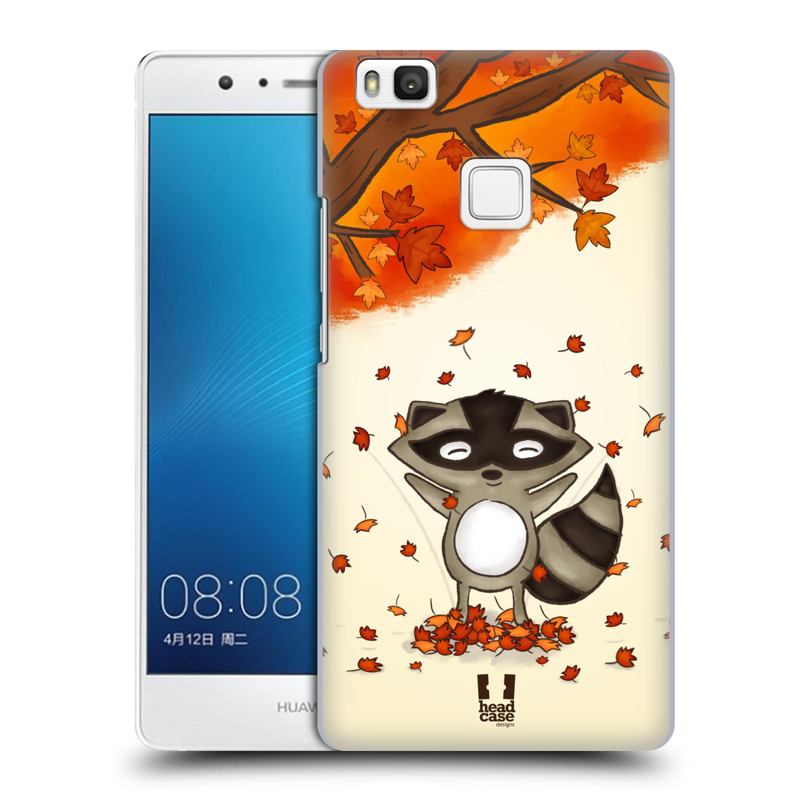 Plastové pouzdro na mobil Huawei P9 Lite HEAD CASE PODZIMNÍ MÝVAL