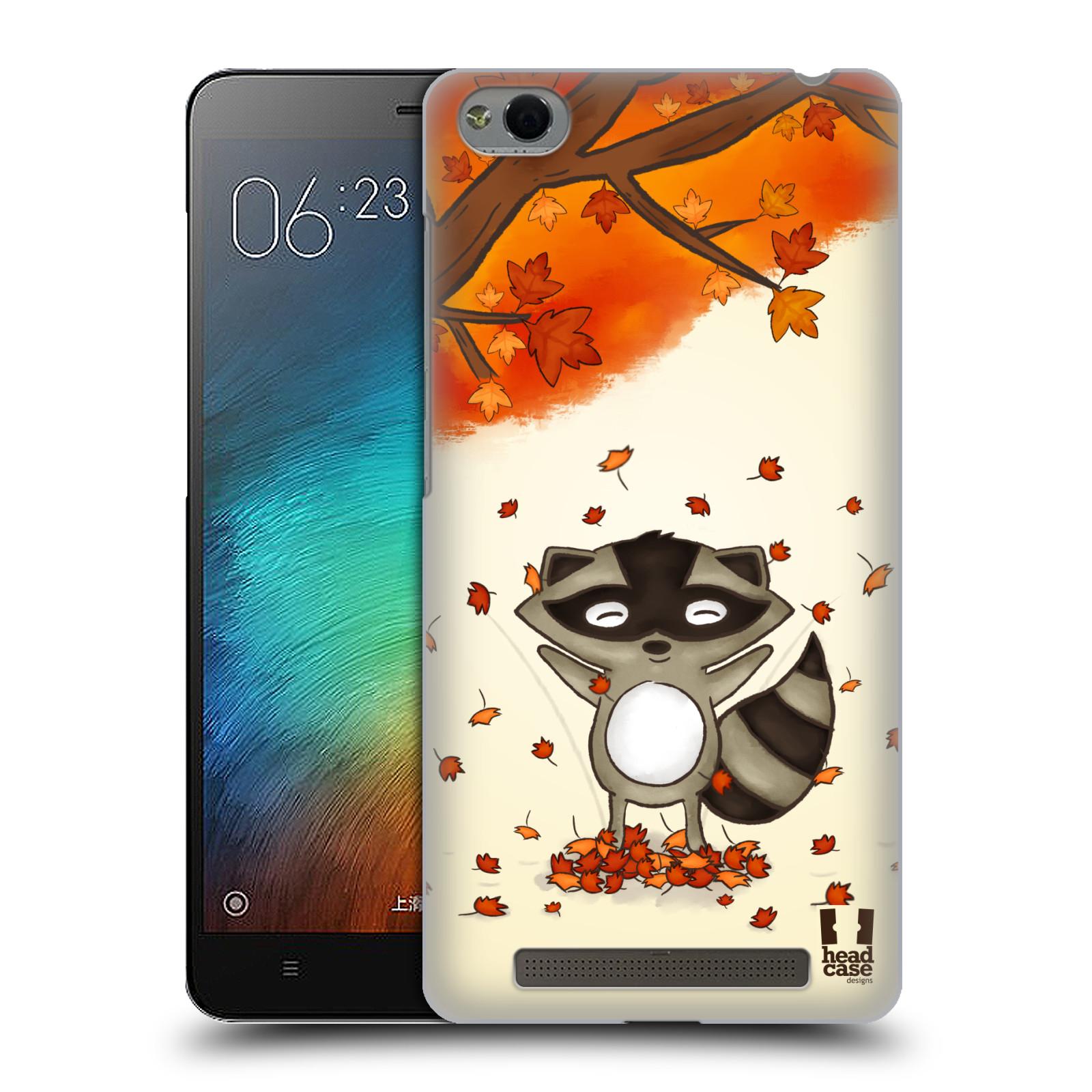 Plastové pouzdro na mobil Xiaomi Redmi 3 HEAD CASE PODZIMNÍ MÝVAL