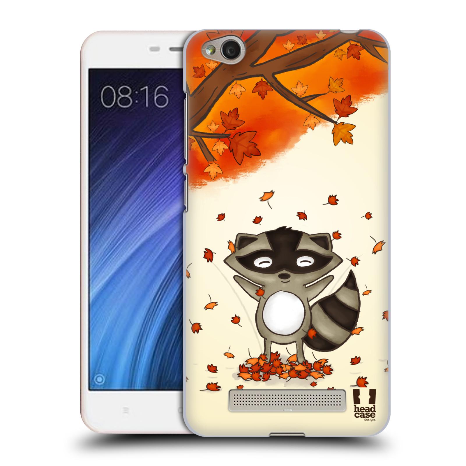 Plastové pouzdro na mobil Xiaomi Redmi 4A HEAD CASE PODZIMNÍ MÝVAL