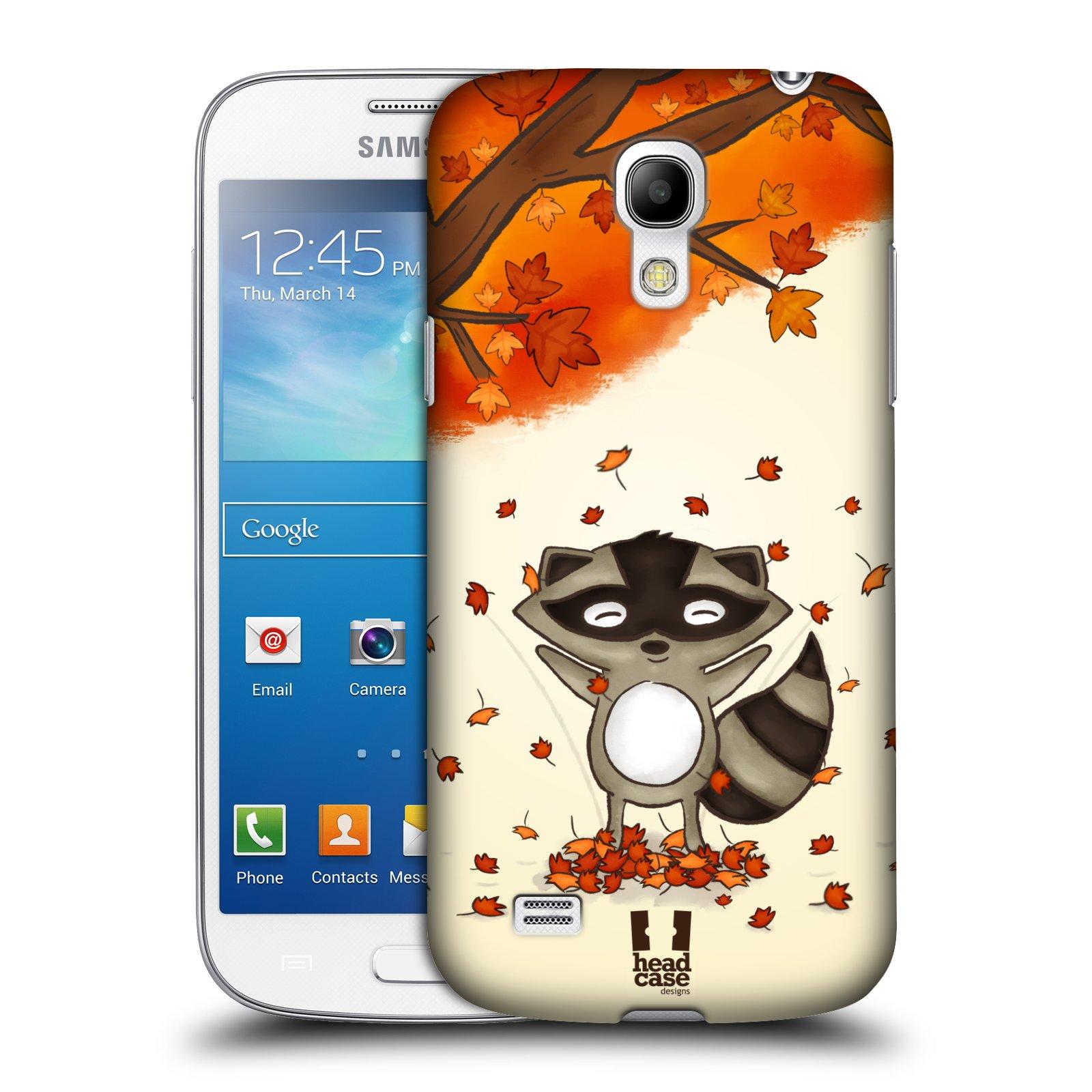 Plastové pouzdro na mobil Samsung Galaxy S4 Mini HEAD CASE PODZIMNÍ MÝVAL