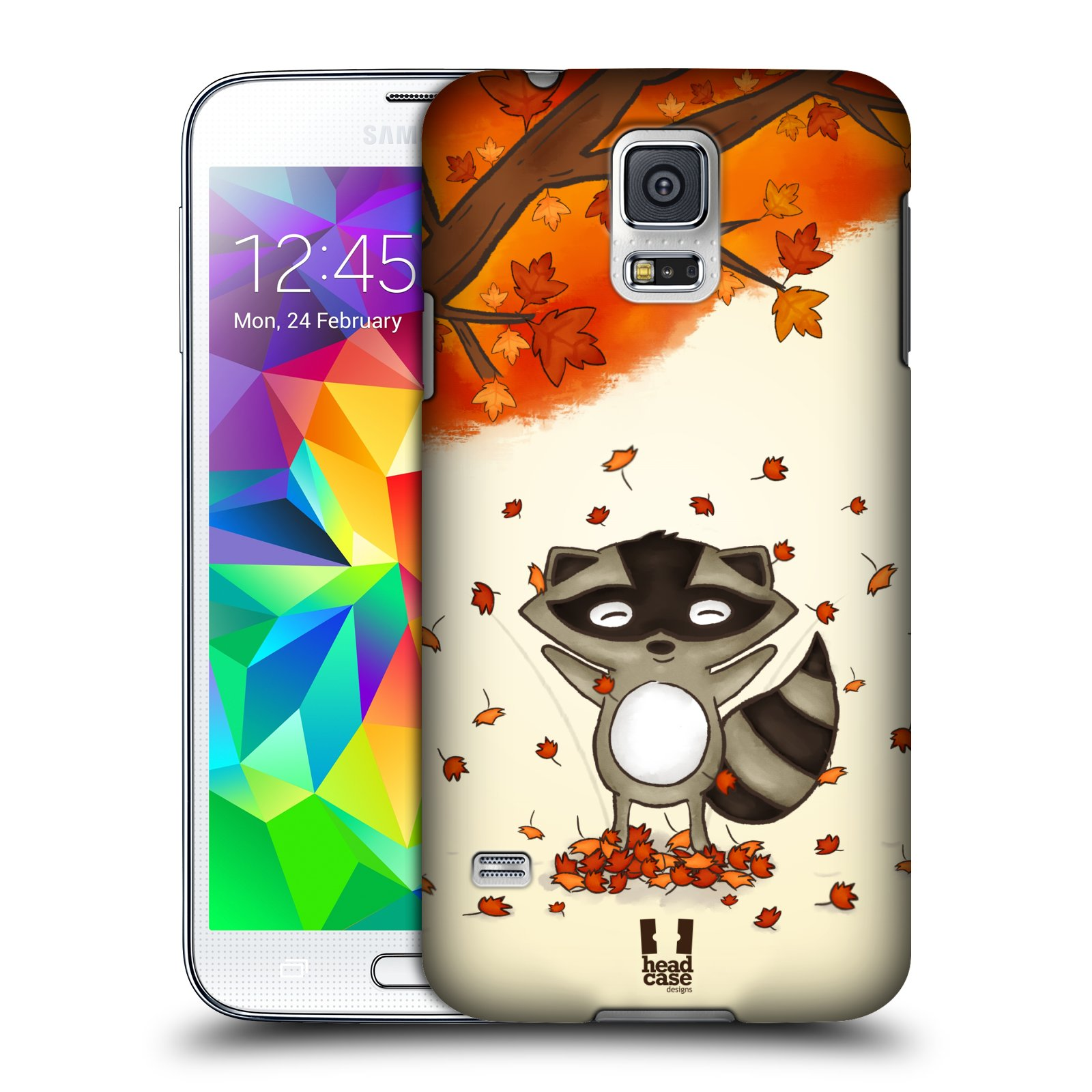 Plastové pouzdro na mobil Samsung Galaxy S5 HEAD CASE PODZIMNÍ MÝVAL