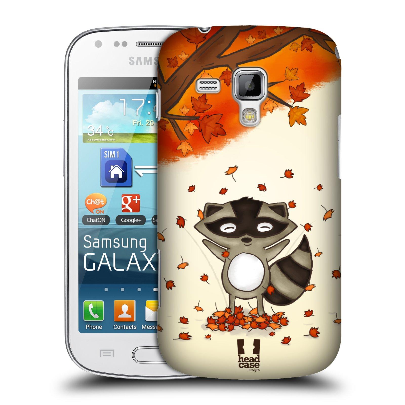 Plastové pouzdro na mobil Samsung Galaxy Trend Plus HEAD CASE PODZIMNÍ MÝVAL