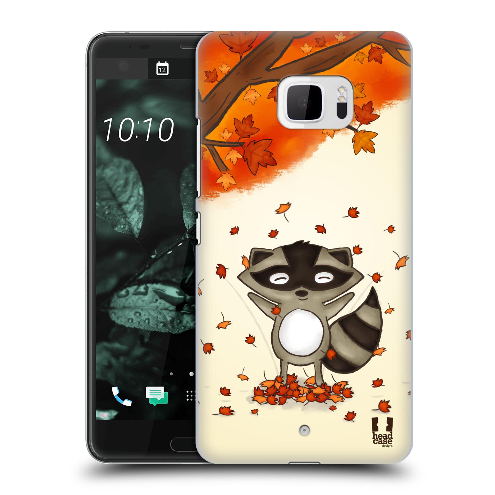 Plastové pouzdro na mobil HTC U Ultra Head Case - PODZIMNÍ MÝVAL (Plastový kryt či obal na mobilní telefon HTC U Ultra (99HALT015-00))