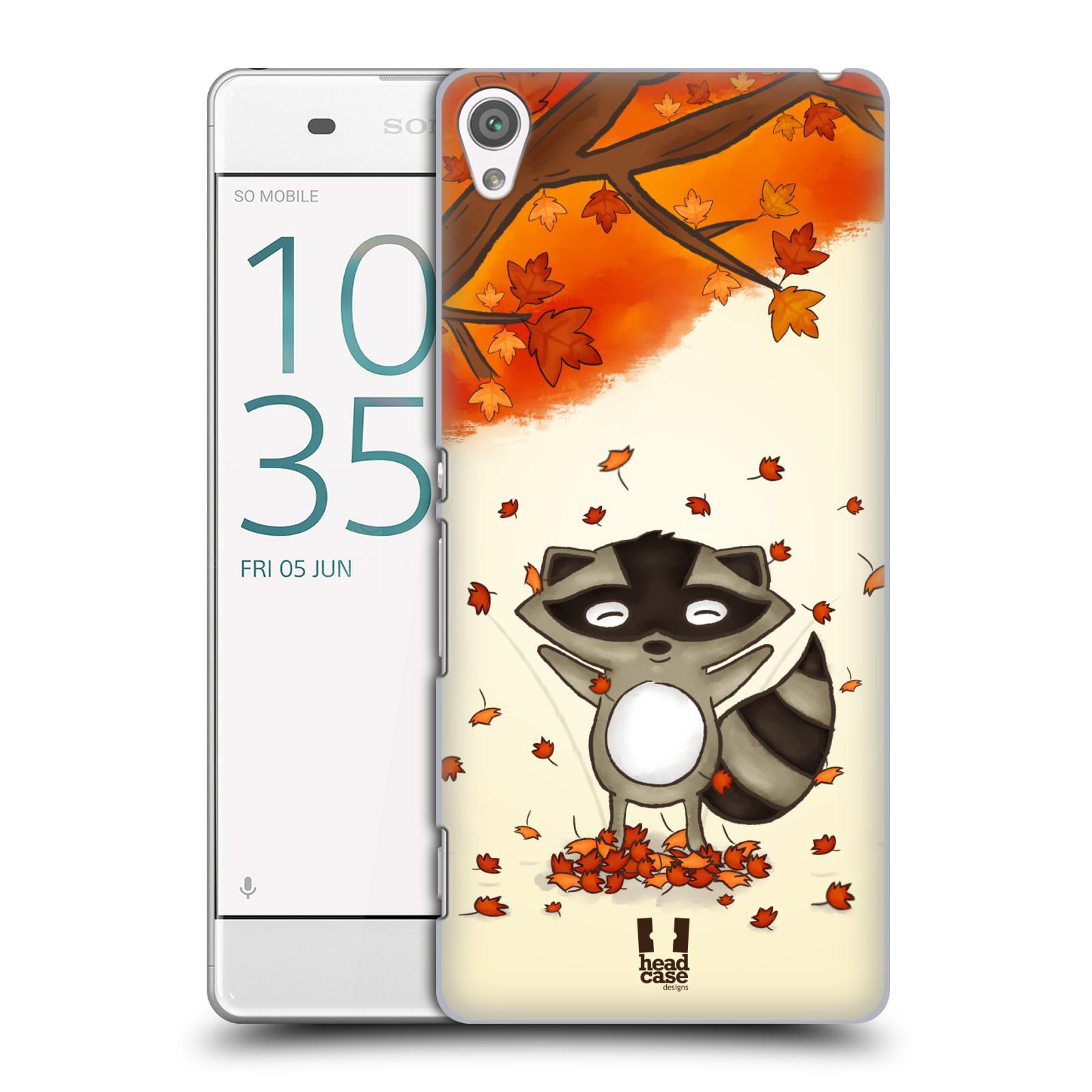 Plastové pouzdro na mobil Sony Xperia XA HEAD CASE PODZIMNÍ MÝVAL