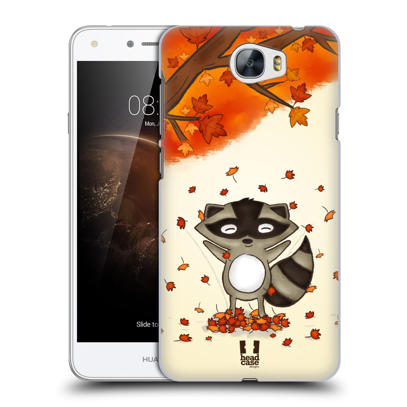 Plastové pouzdro na mobil Huawei Y5 II HEAD CASE PODZIMNÍ MÝVAL