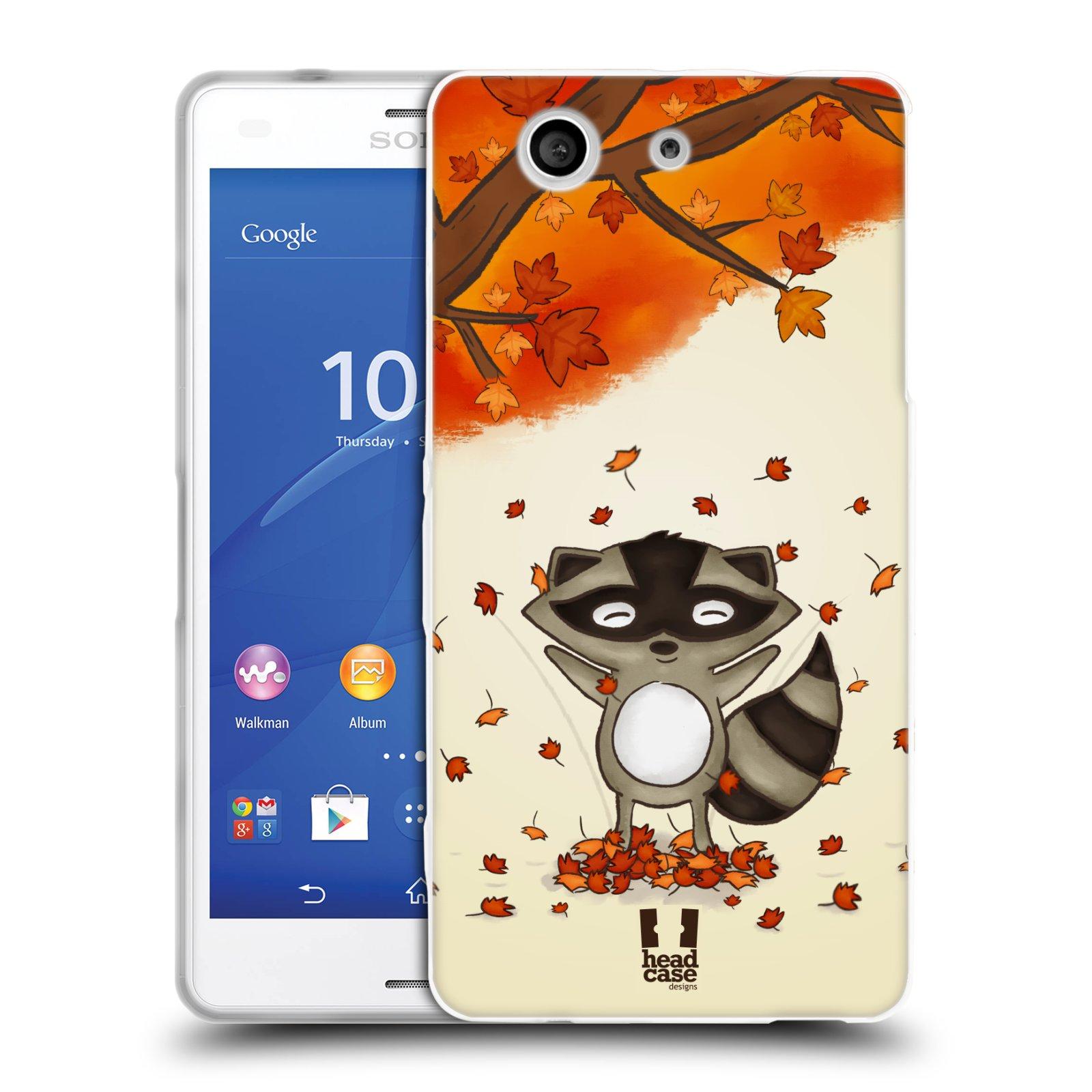 Silikonové pouzdro na mobil Sony Xperia Z3 Compact D5803 HEAD CASE PODZIMNÍ MÝVAL