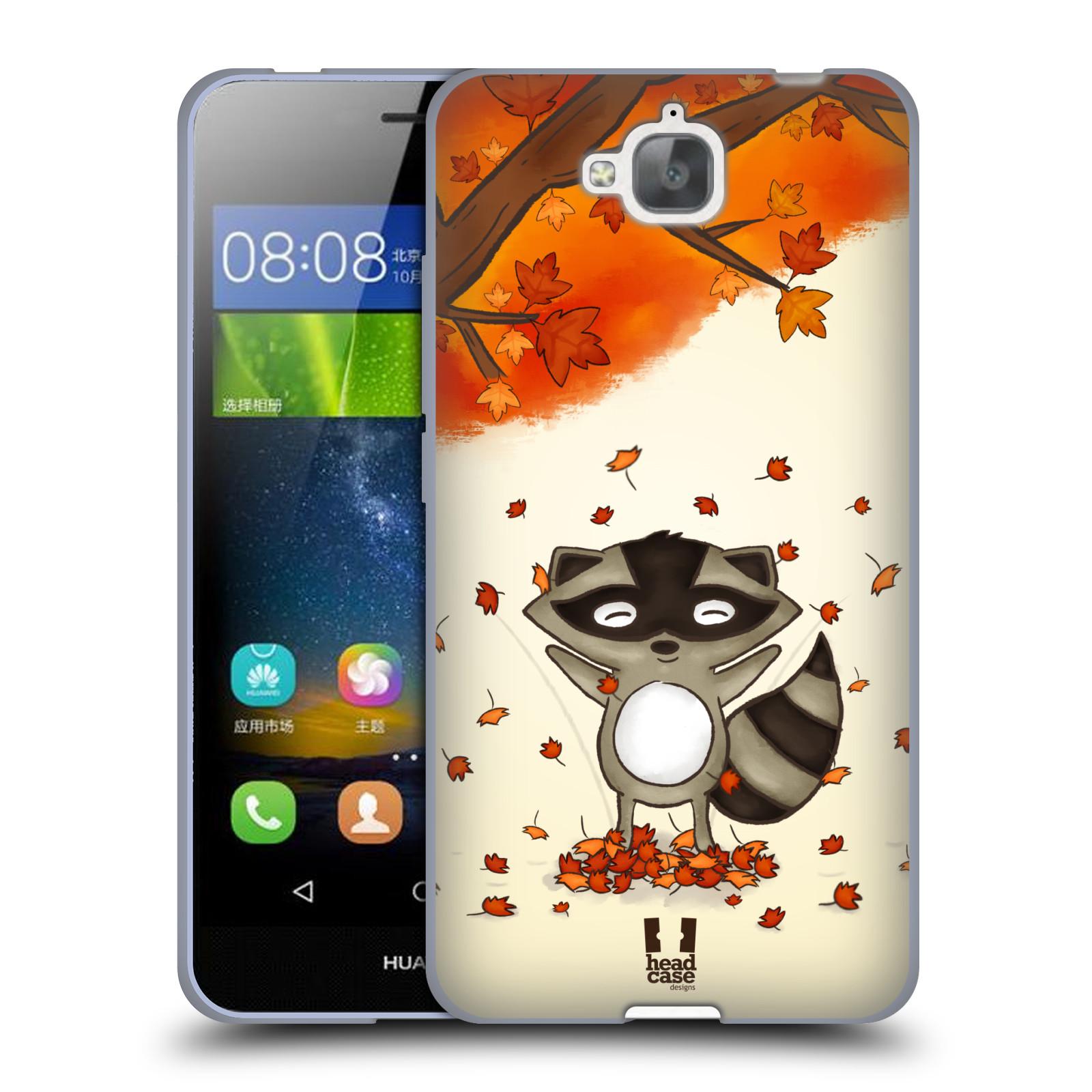 Silikonové pouzdro na mobil Huawei Y6 Pro Dual Sim HEAD CASE PODZIMNÍ MÝVAL