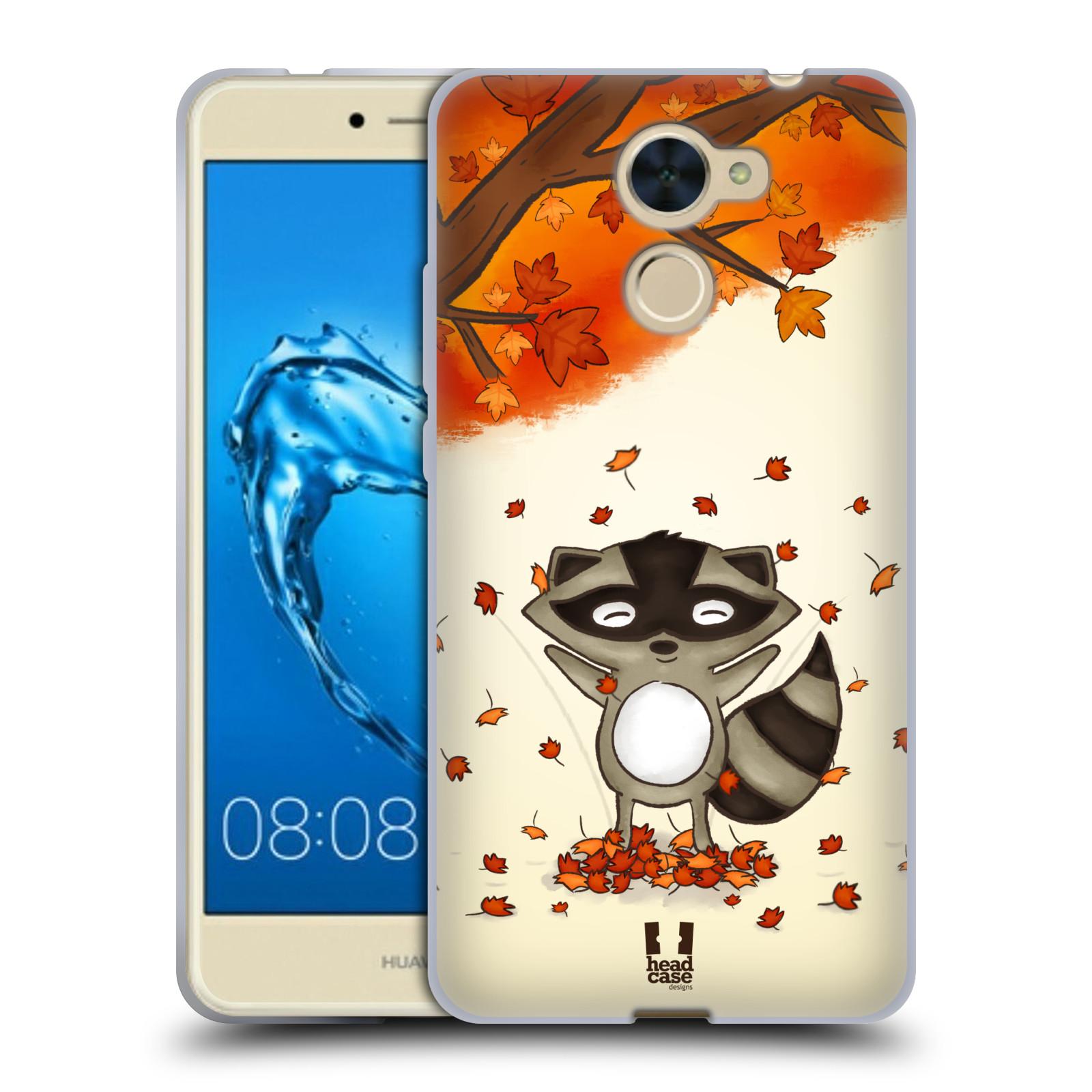 Silikonové pouzdro na mobil Huawei Y7 - Head Case - PODZIMNÍ MÝVAL