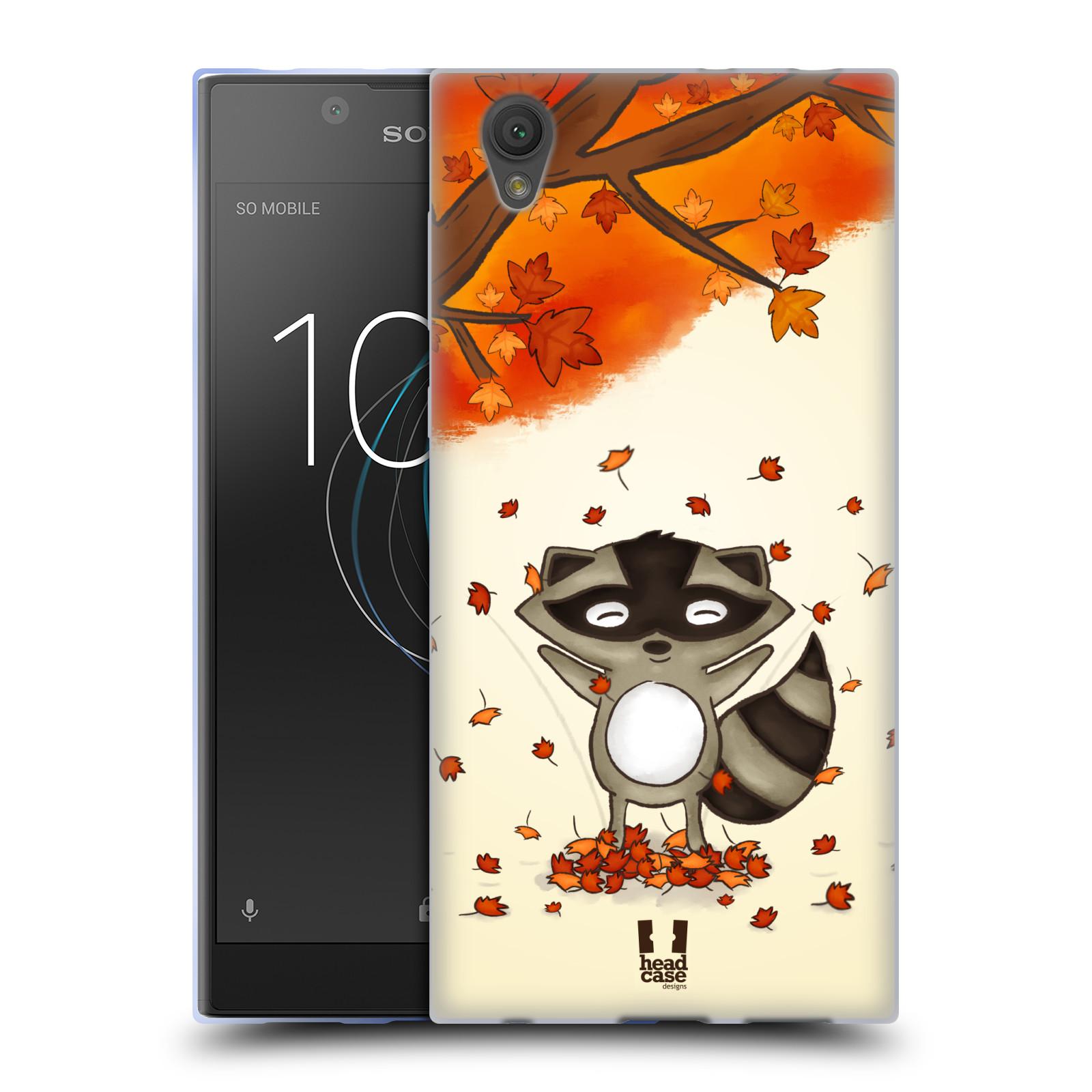 Silikonové pouzdro na mobil Sony Xperia L1 - Head Case - PODZIMNÍ MÝVAL