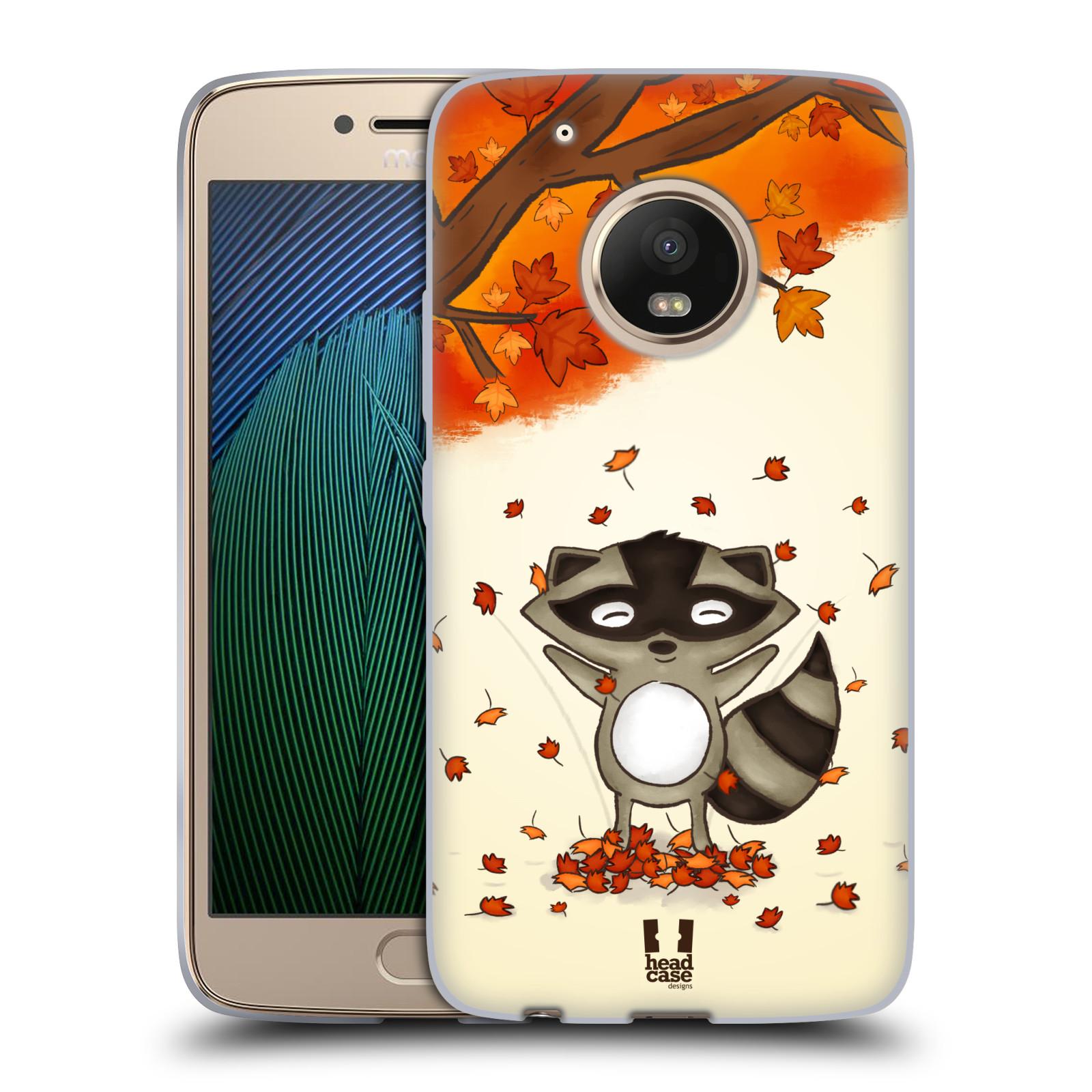Silikonové pouzdro na mobil Lenovo Moto G5 Plus - Head Case PODZIMNÍ MÝVAL