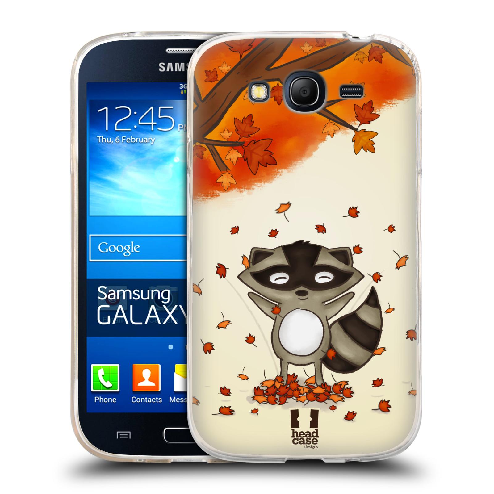 Silikonové pouzdro na mobil Samsung Galaxy Grand Neo HEAD CASE PODZIMNÍ MÝVAL