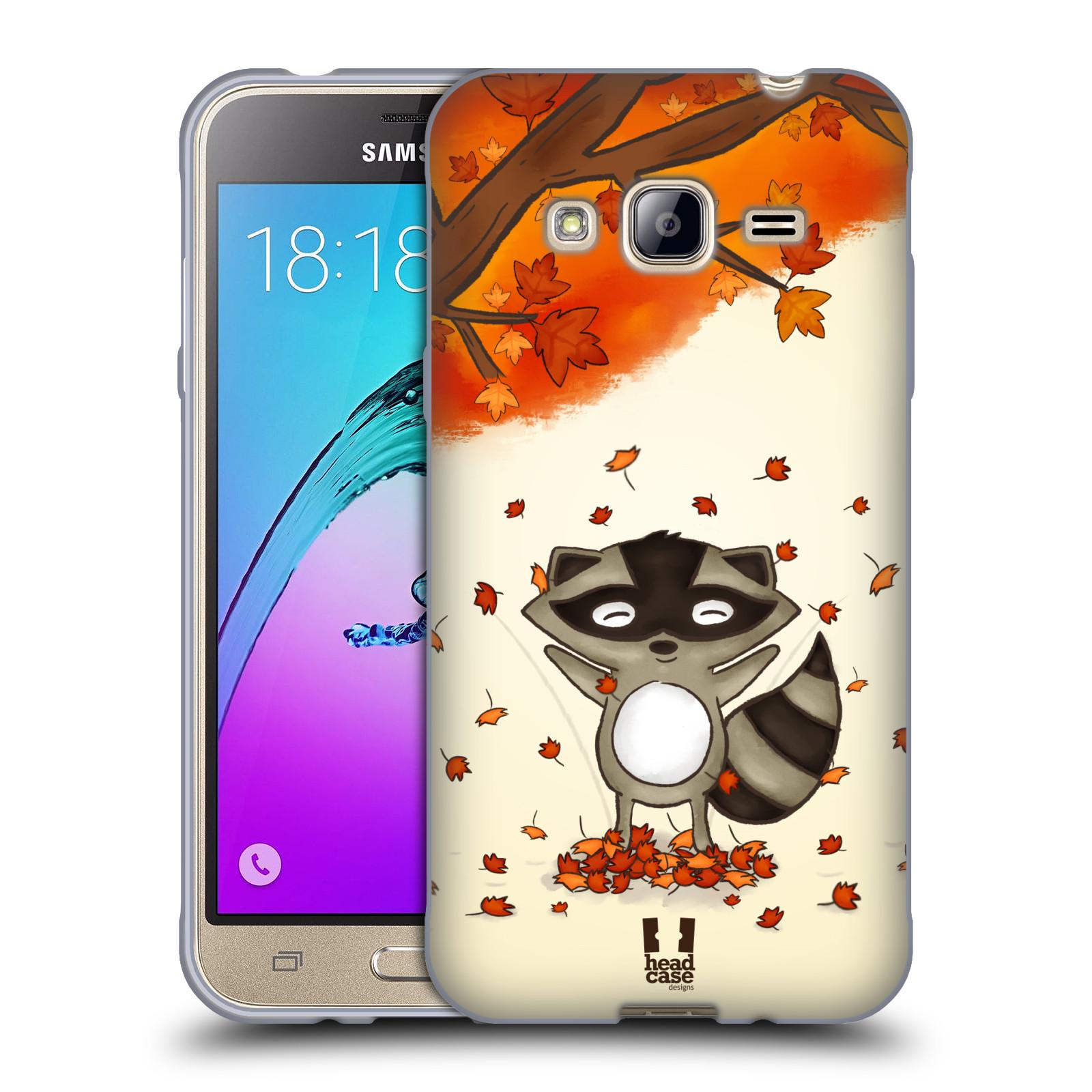 Silikonové pouzdro na mobil Samsung Galaxy J3 (2016) HEAD CASE PODZIMNÍ MÝVAL