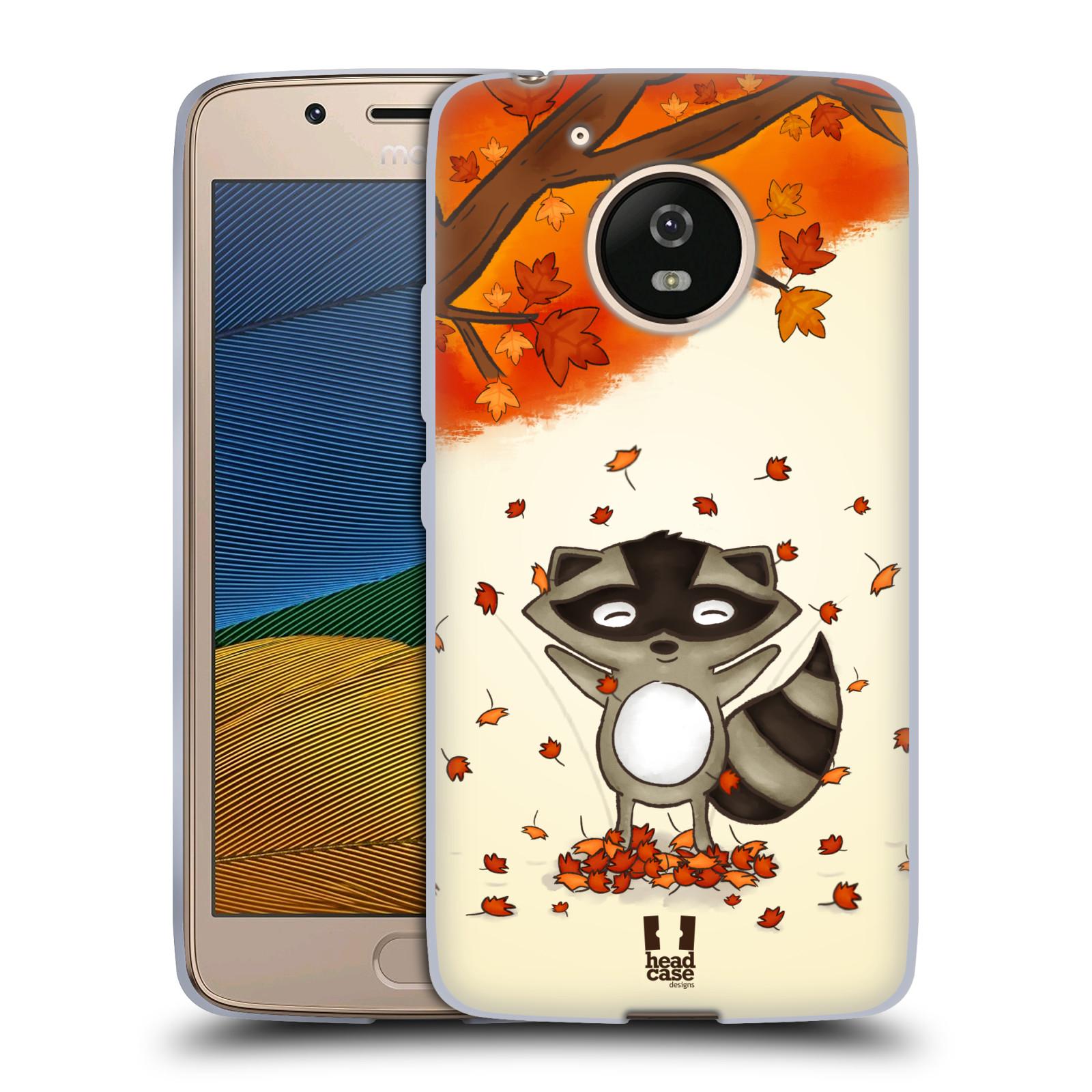 Silikonové pouzdro na mobil Lenovo Moto G5 - Head Case PODZIMNÍ MÝVAL