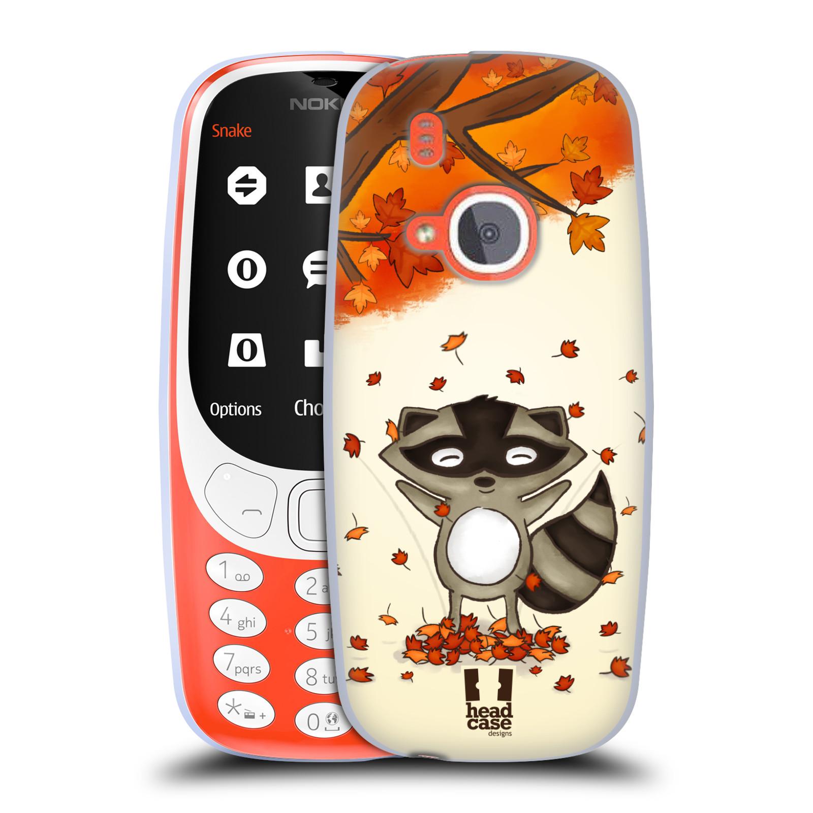 Silikonové pouzdro na mobil Nokia 3310 - Head Case - PODZIMNÍ MÝVAL