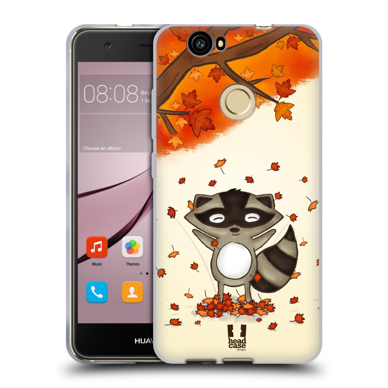Silikonové pouzdro na mobil Huawei Nova - Head Case - PODZIMNÍ MÝVAL