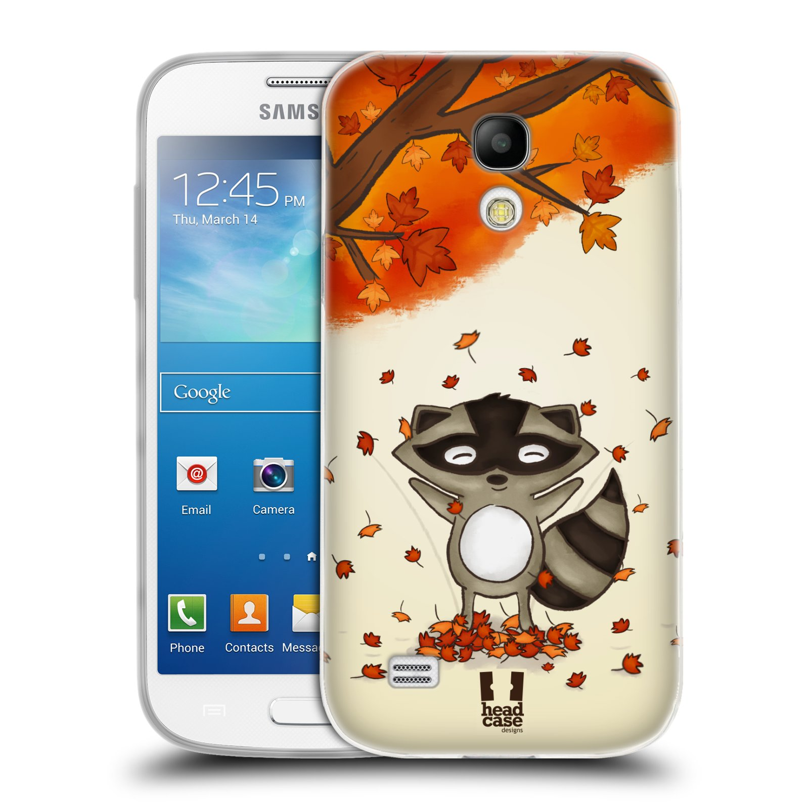 Silikonové pouzdro na mobil Samsung Galaxy S4 Mini HEAD CASE PODZIMNÍ MÝVAL